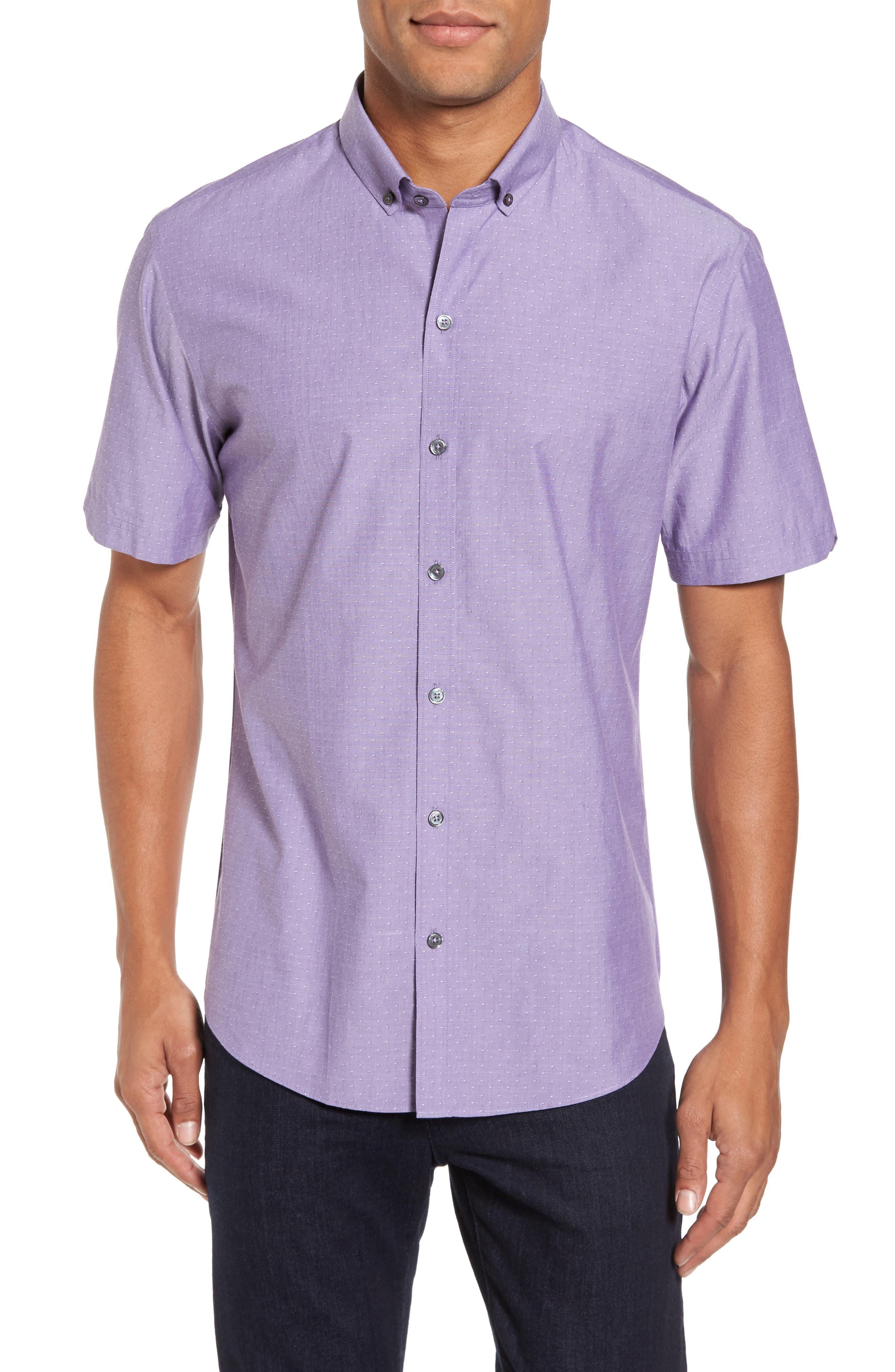 Olson Slim Fit Dobby Sport Shirt,                         Main,                         color, 530