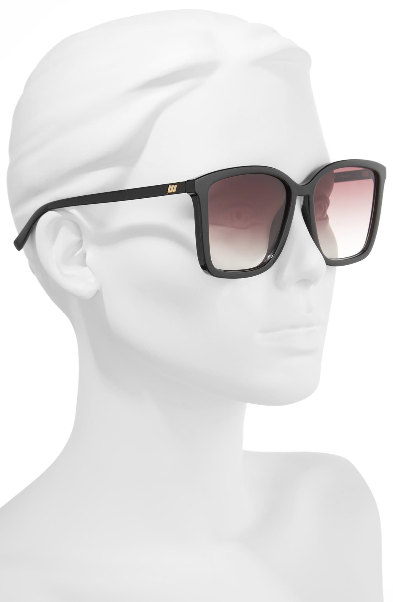 It Ain't Baroque 55mm Sunglasses,                             Alternate thumbnail 2, color,                             001