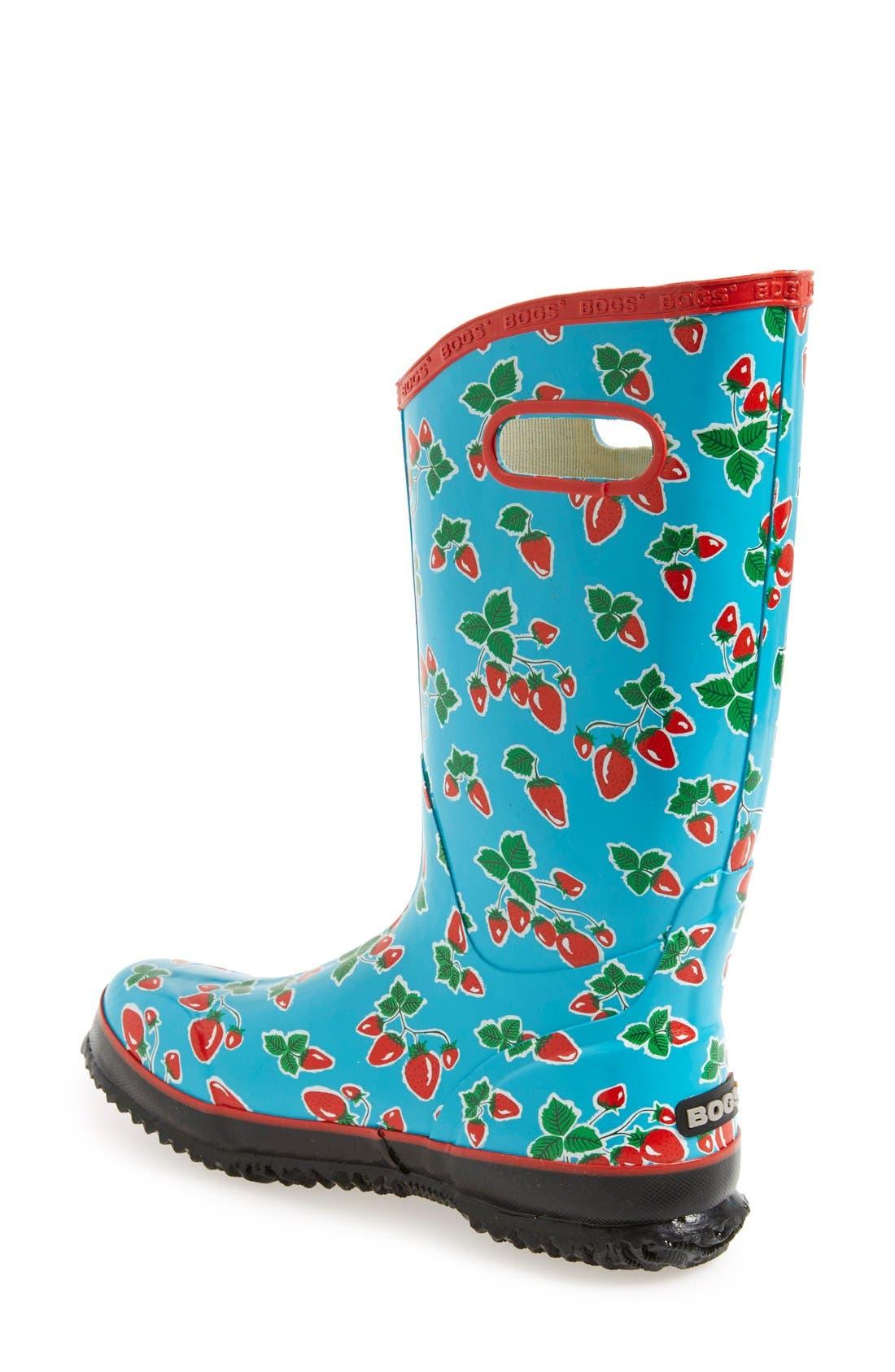 'Fruit' Waterproof Rain Boot,                             Alternate thumbnail 2, color,                             440