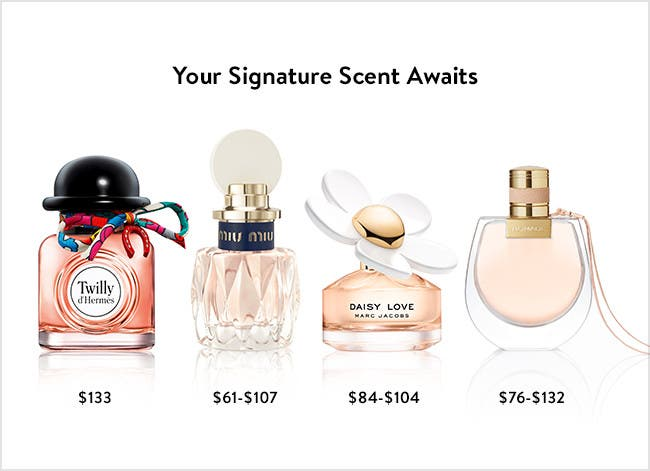 Your signature scent awaits.