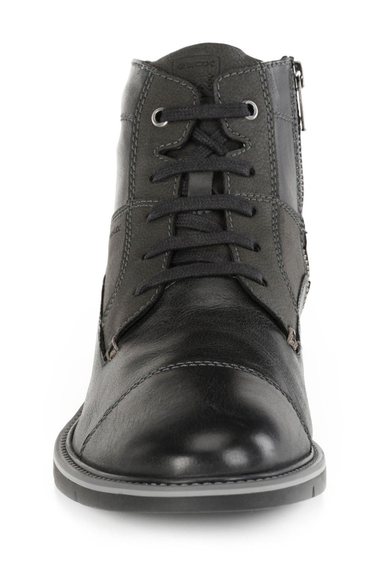 Muvet 5 Cap Toe Boot,                             Alternate thumbnail 4, color,                             001
