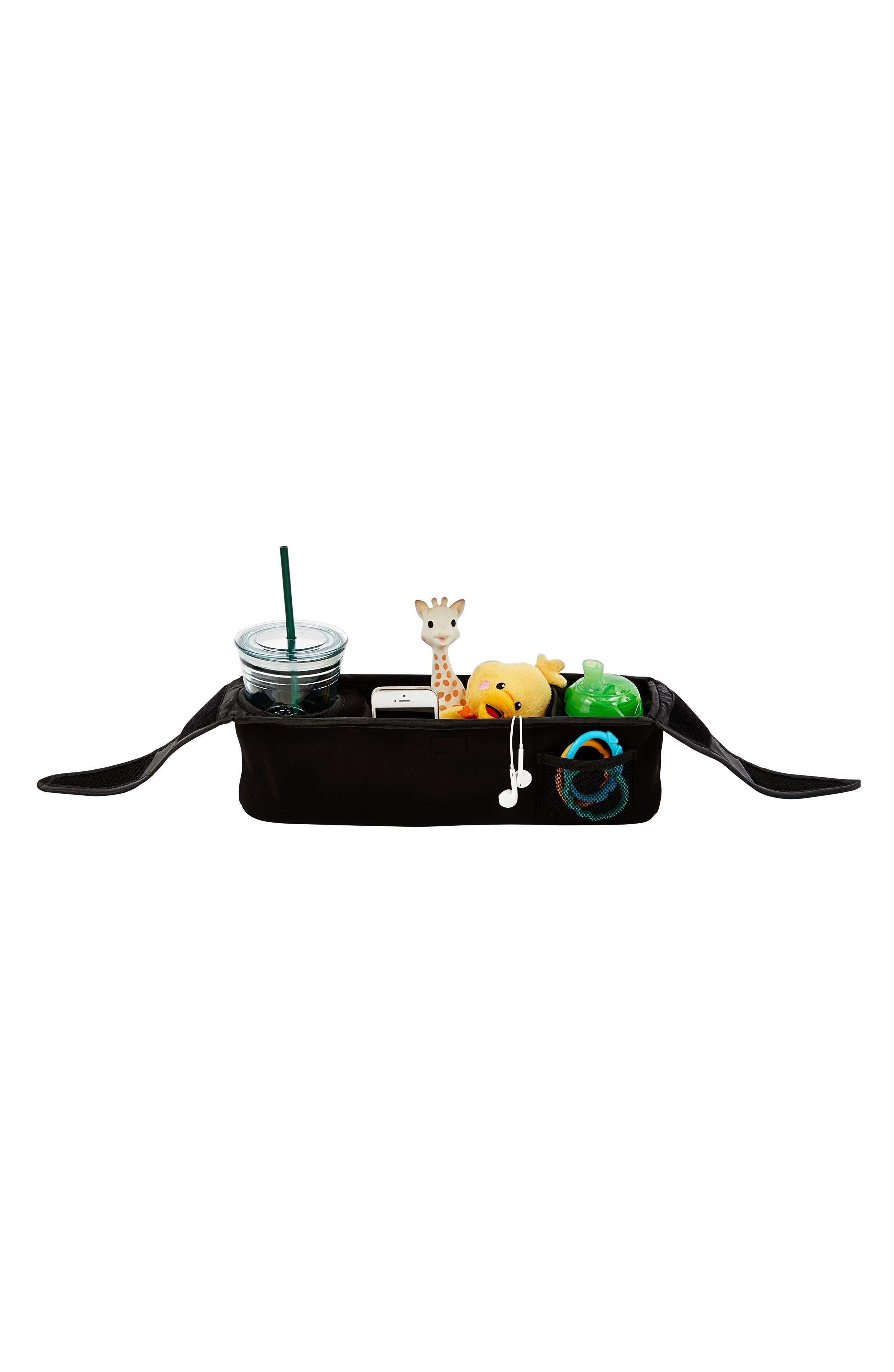 City Mini GT<sup>®</sup> Single Stroller & Parent Console Attachment,                             Alternate thumbnail 3, color,                             STEEL GRAY