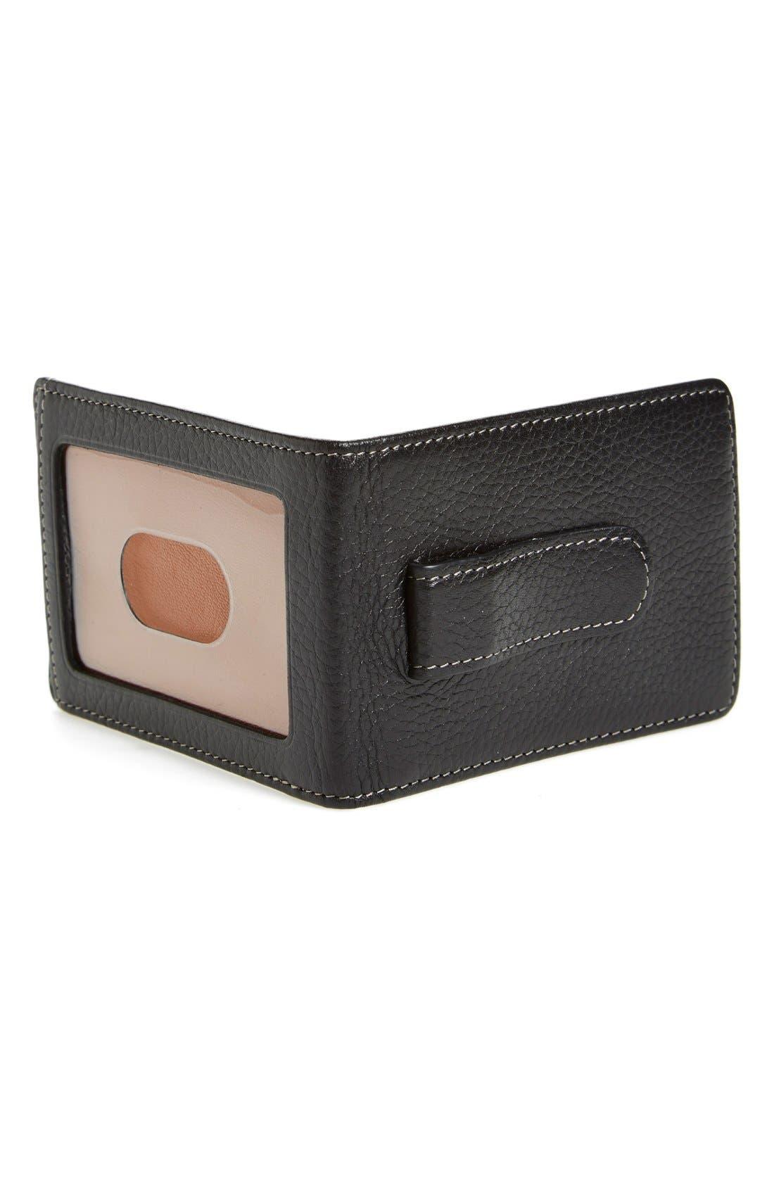 'Tyler' Money Clip Wallet,                             Alternate thumbnail 5, color,                             001