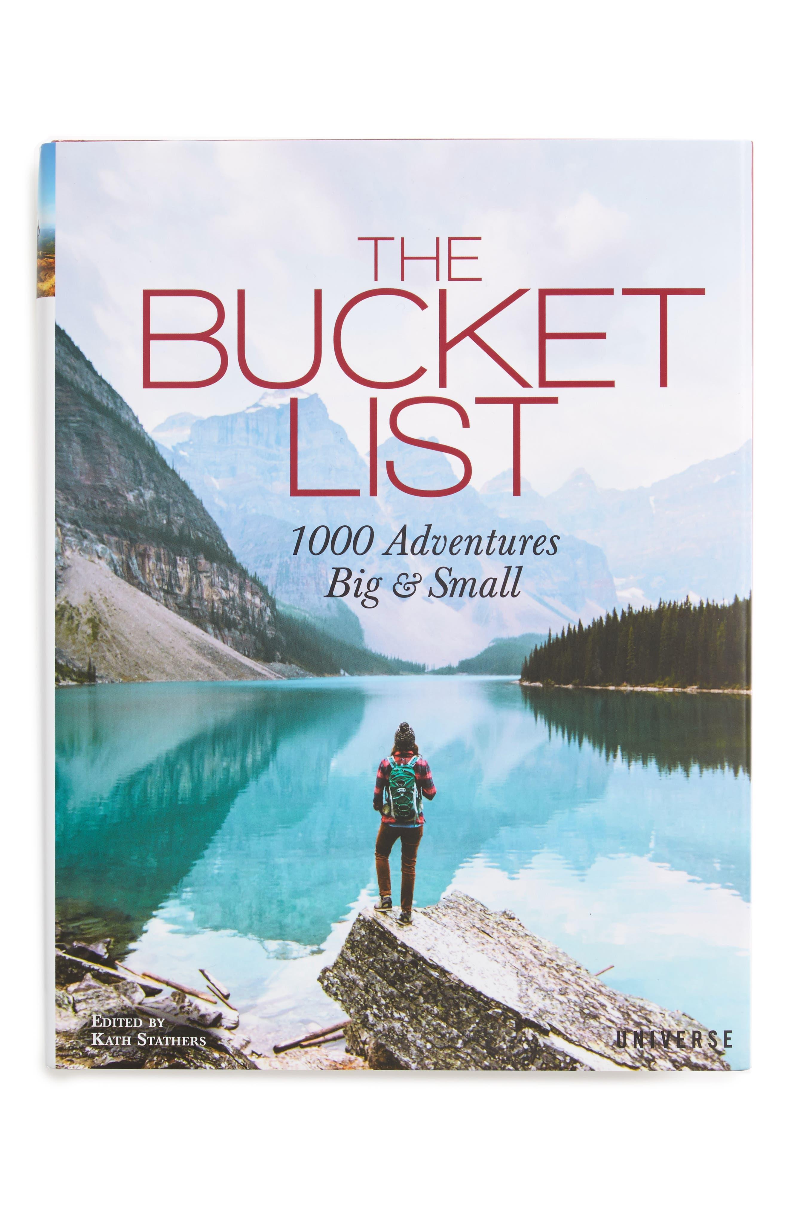 The Bucket List: 1,000 Adventures Big & Small Book,                         Main,                         color,