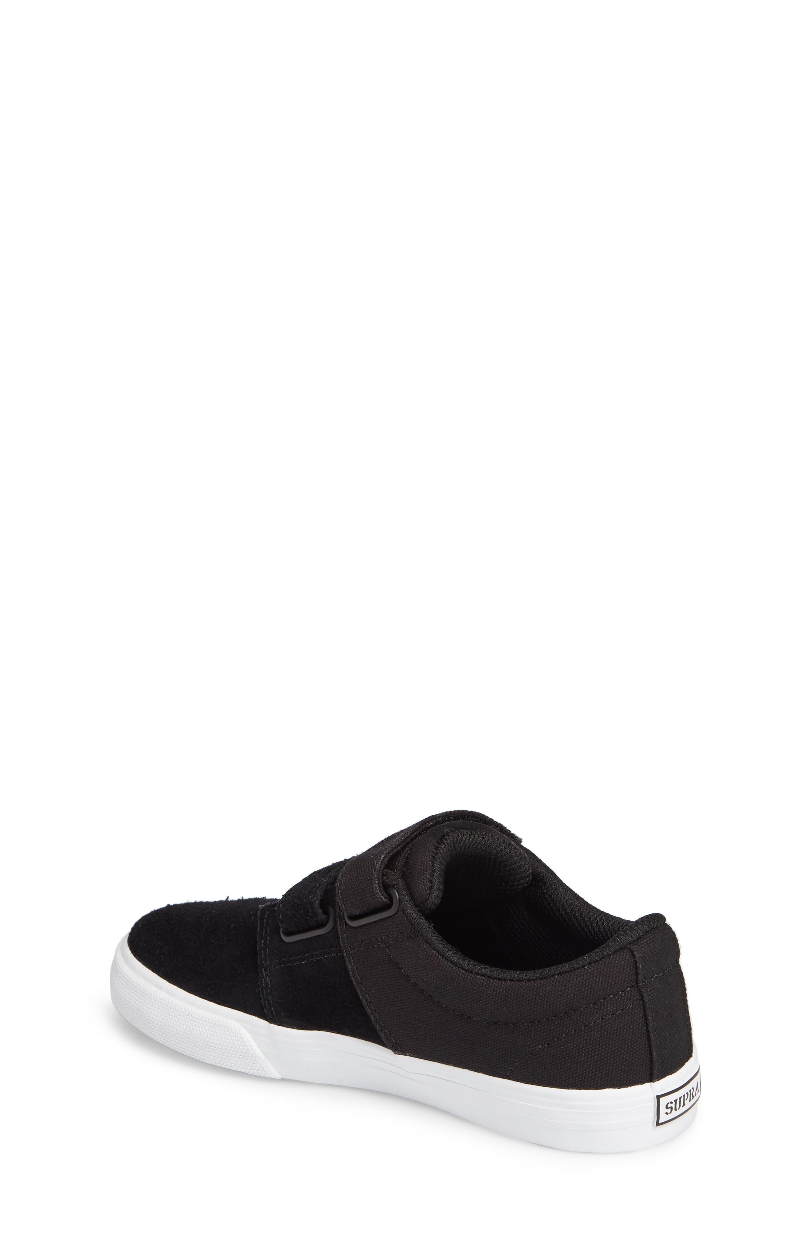 Stacks Low Top Sneaker,                             Alternate thumbnail 2, color,                             BLACK - WHITE