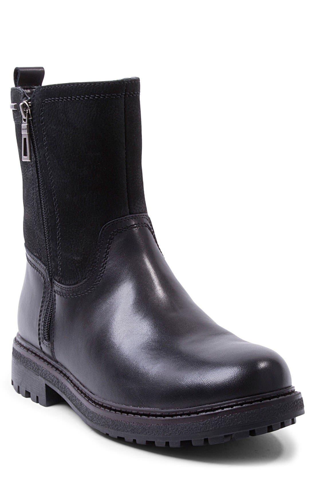 'Jagger' Waterproof Zip Boot,                             Main thumbnail 1, color,                             001