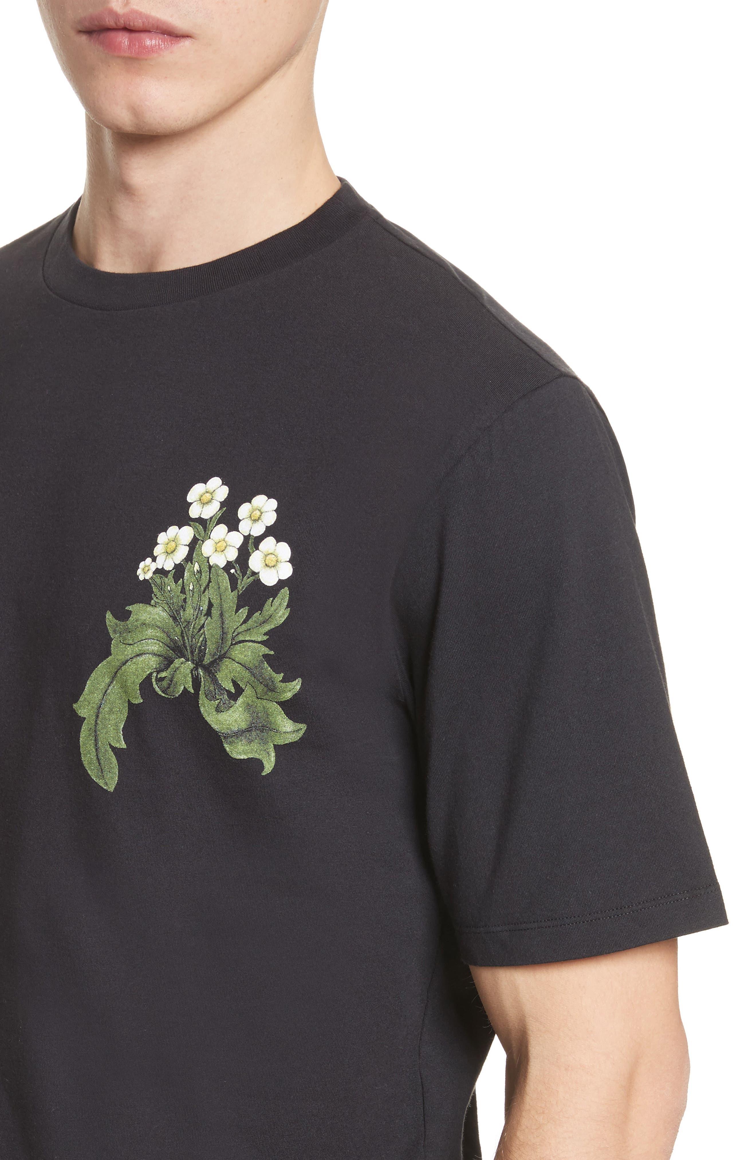 Loewe & Co. Graphic T-Shirt,                             Alternate thumbnail 4, color,                             001