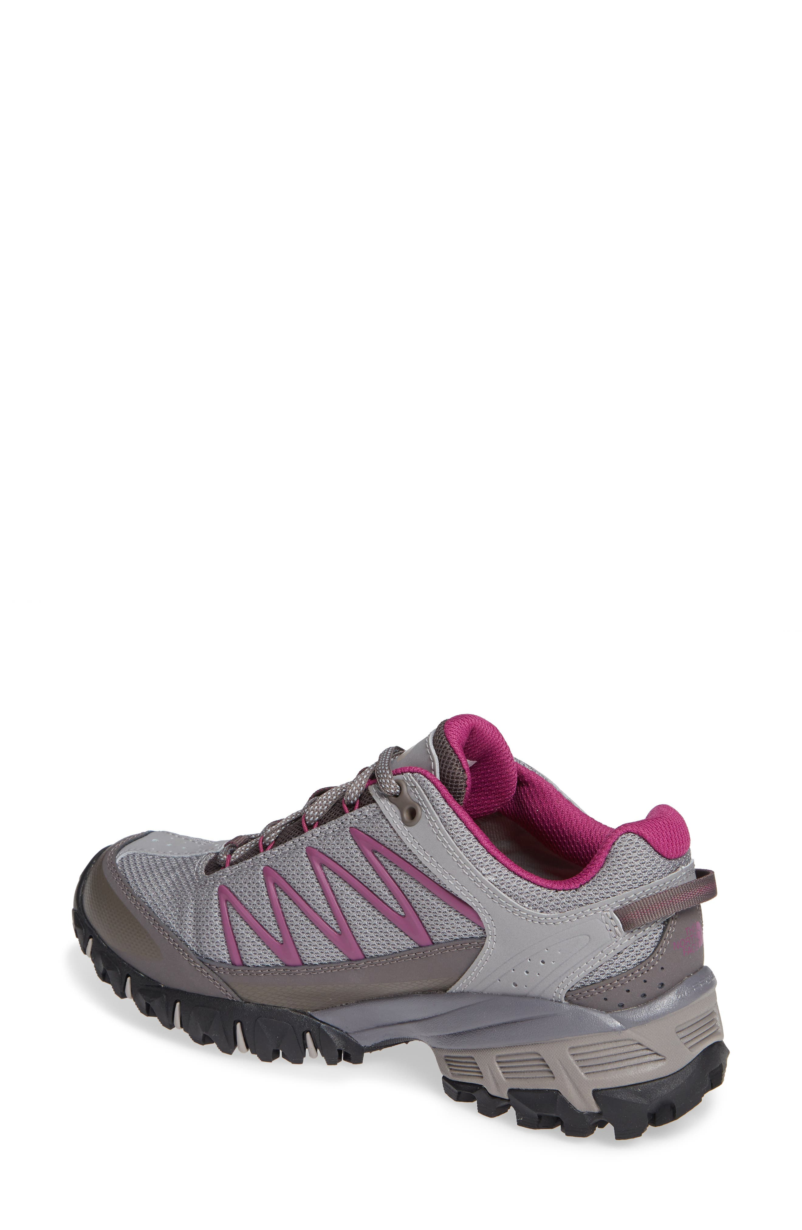 Ultra 110 GTX<sup>®</sup> Hiking Shoe,                             Alternate thumbnail 2, color,                             Q-SILVER GREY/ ASTER PURPLE