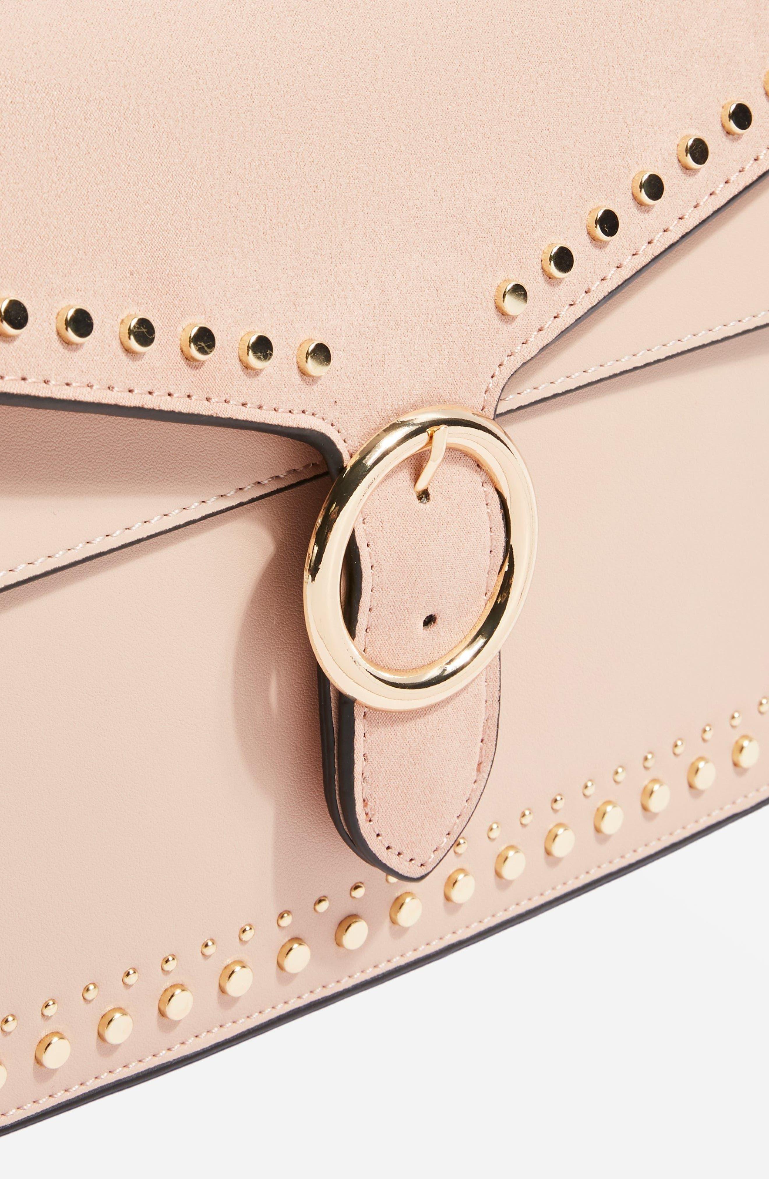 Peony Studded Shoulder Bag,                             Alternate thumbnail 11, color,