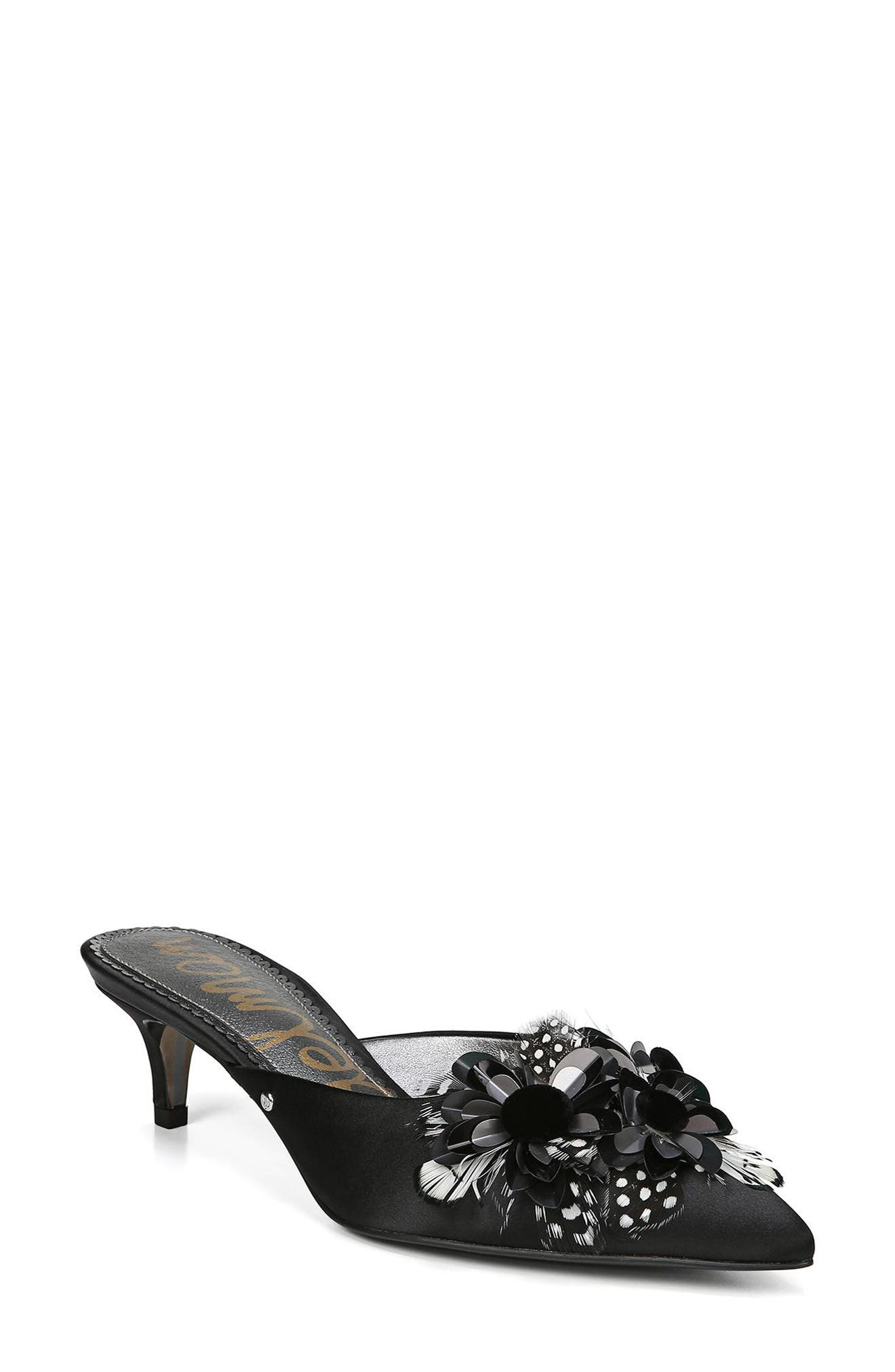 Dorcy Embellished Mule,                             Main thumbnail 1, color,                             002