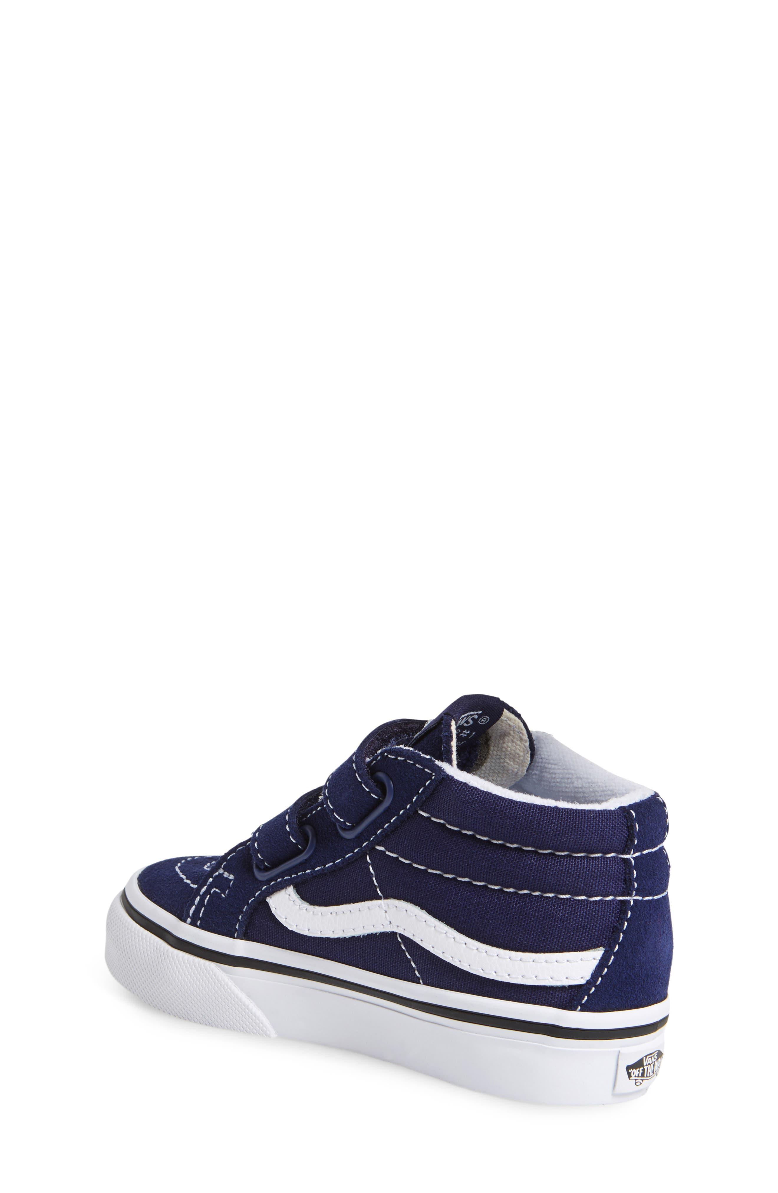'Sk8-Hi Reissue V' Sneaker,                             Main thumbnail 1, color,                             PATRIOT BLUE/ TRUE WHITE