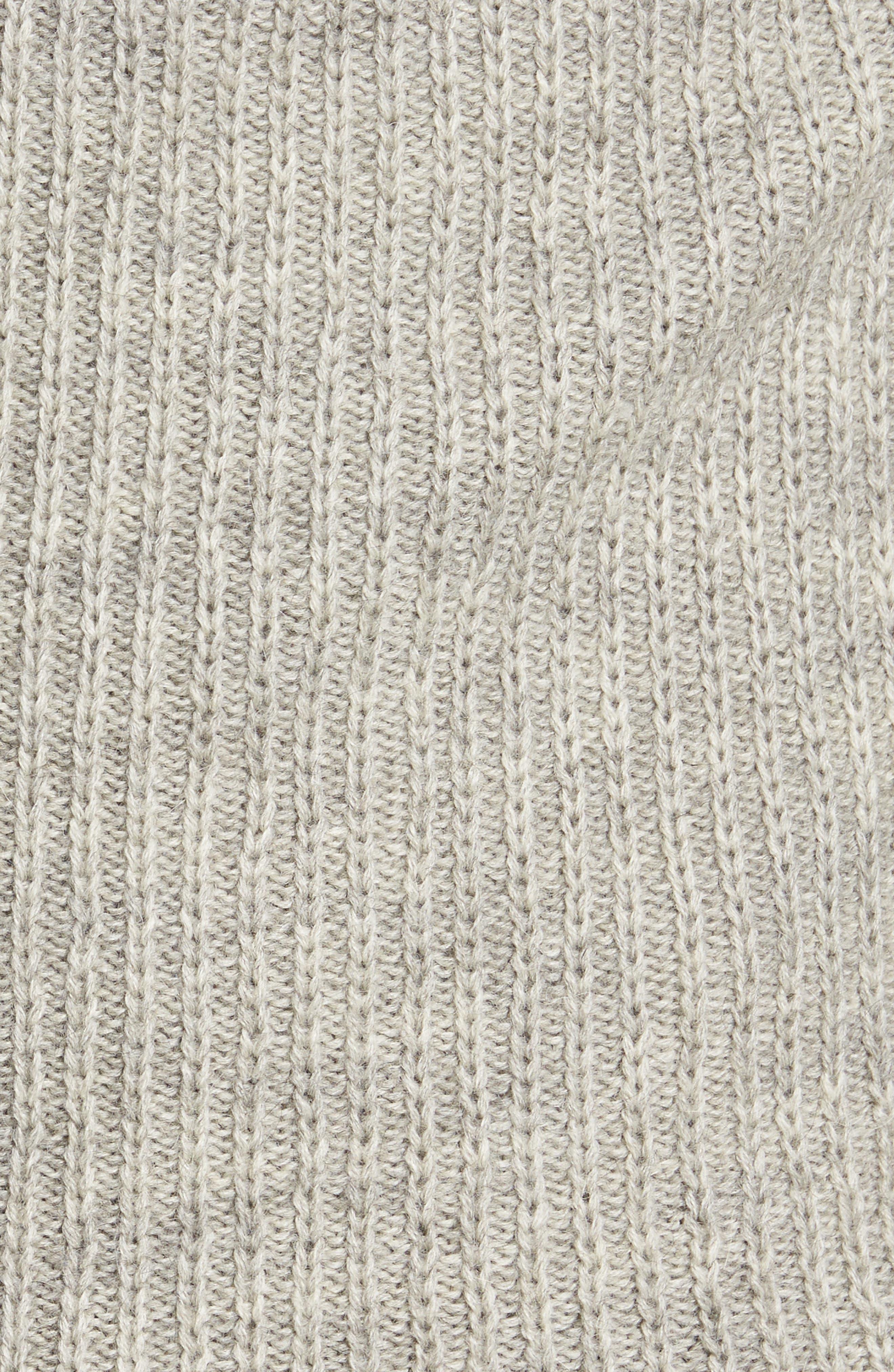'Huka Lodge' Merino Wool Blend Quarter Zip Sweater,                             Alternate thumbnail 5, color,                             268
