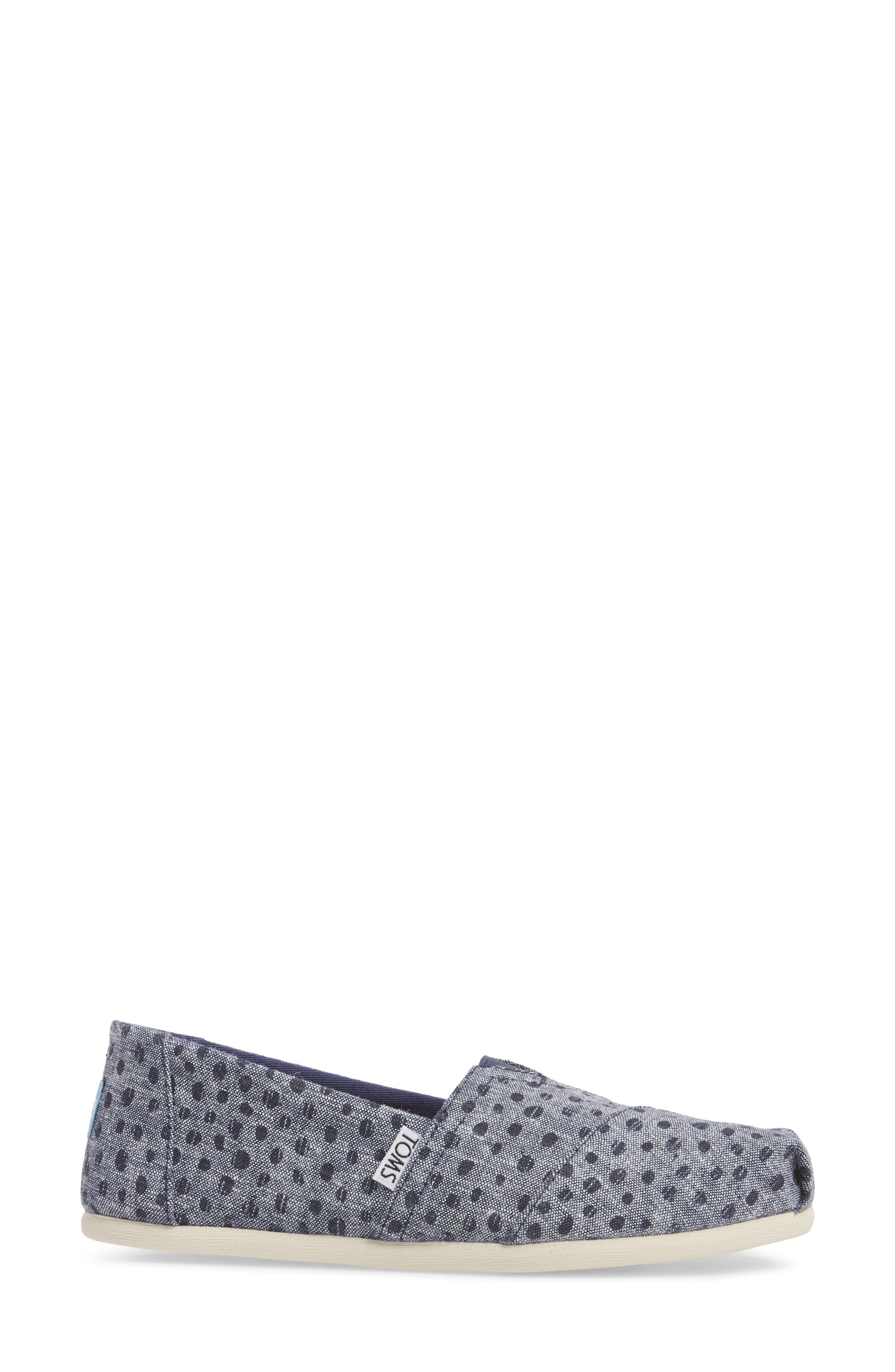 Alpargata Chambray Slip-On,                             Alternate thumbnail 3, color,                             410