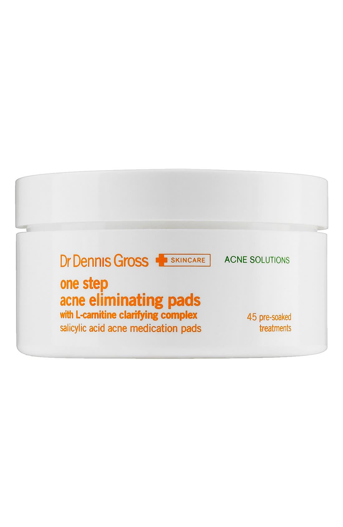 One Step Acne Eliminating Pads - 45 Applications,                         Main,                         color, NO COLOR