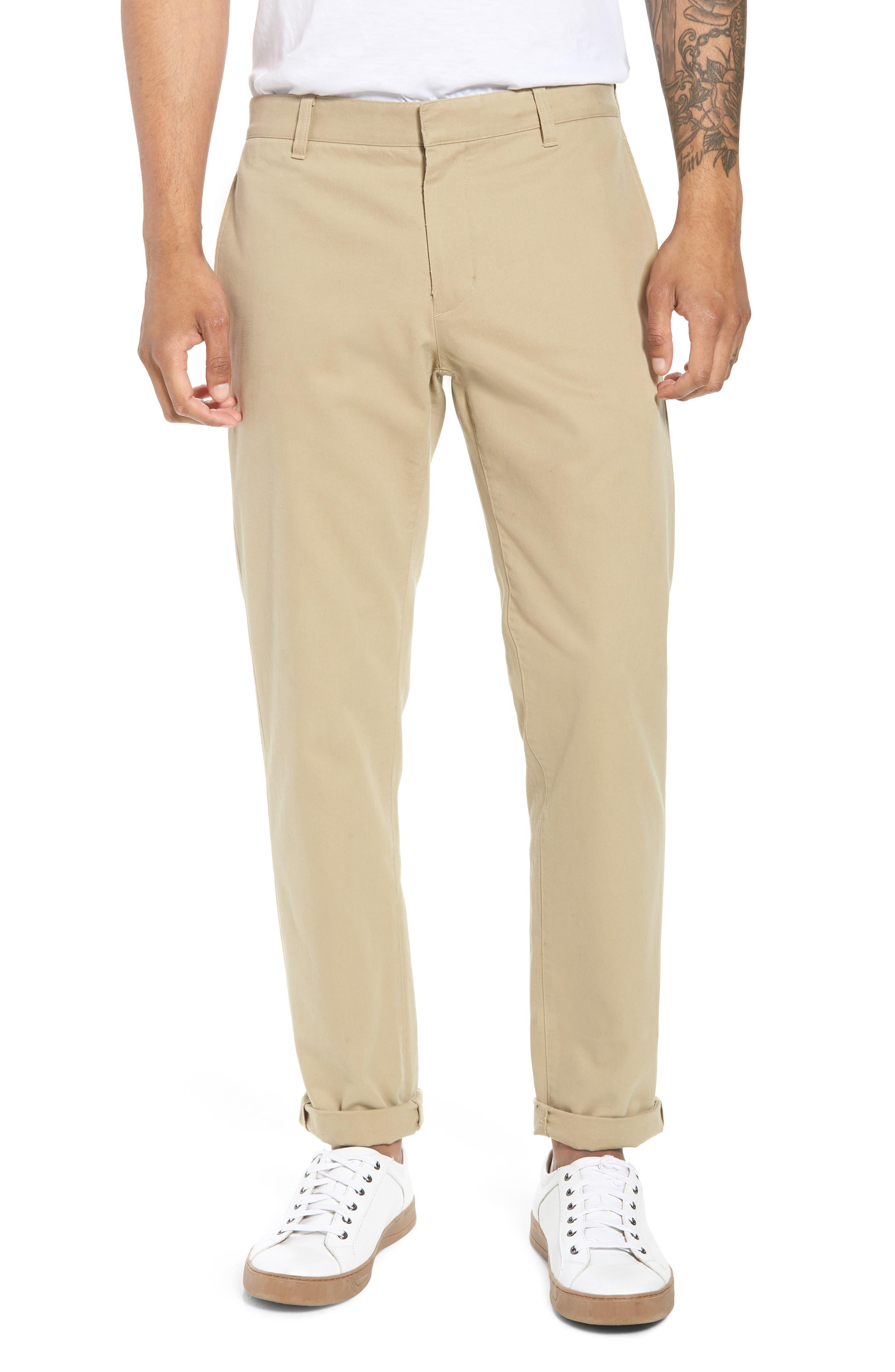 Flat Front Chino Pants,                         Main,                         color, 250