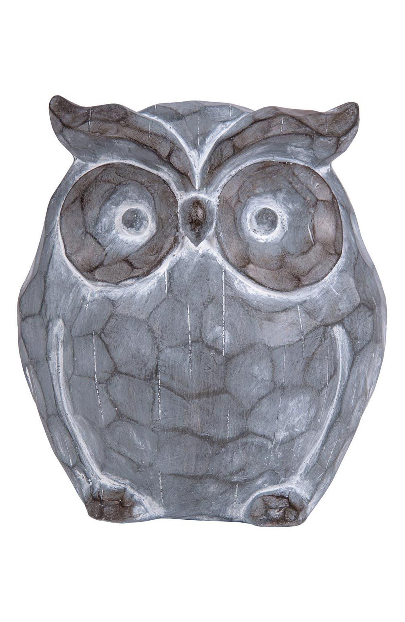 Owl Statue,                         Main,                         color,