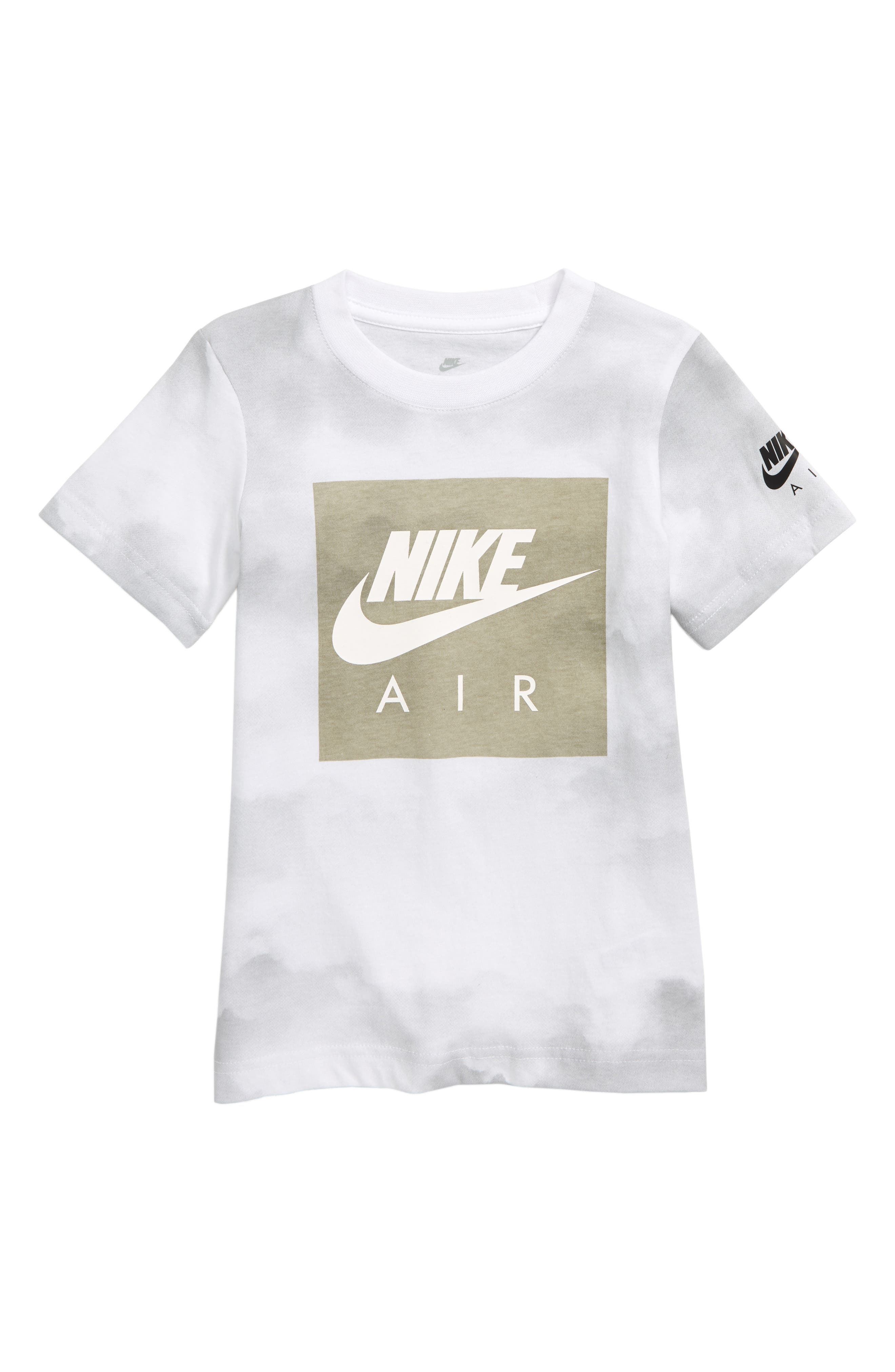 Air Cloud T-Shirt,                             Main thumbnail 1, color,                             WHITE