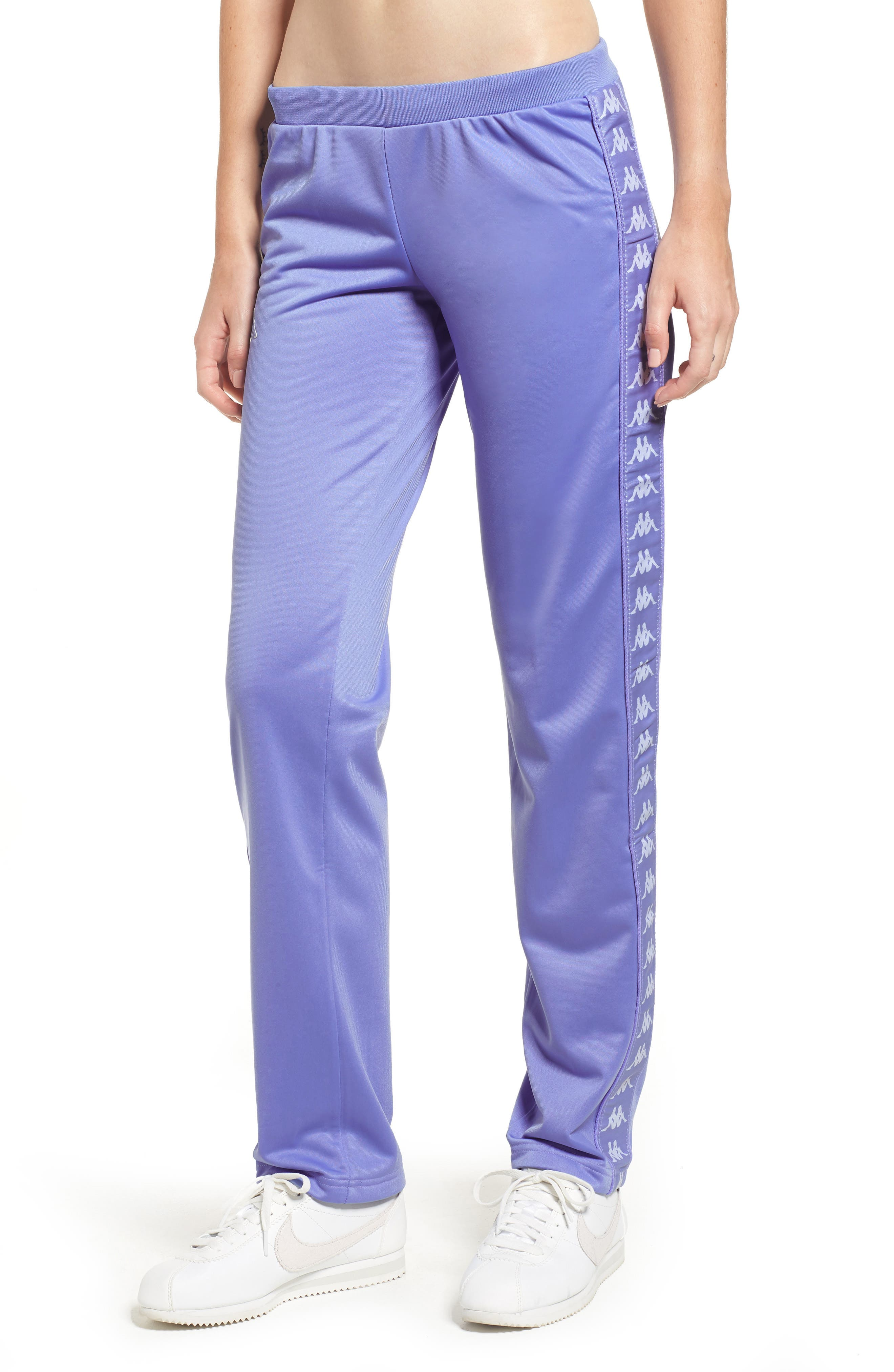 Active Wastoria Track Pants,                         Main,                         color, VIOLET-WHITE