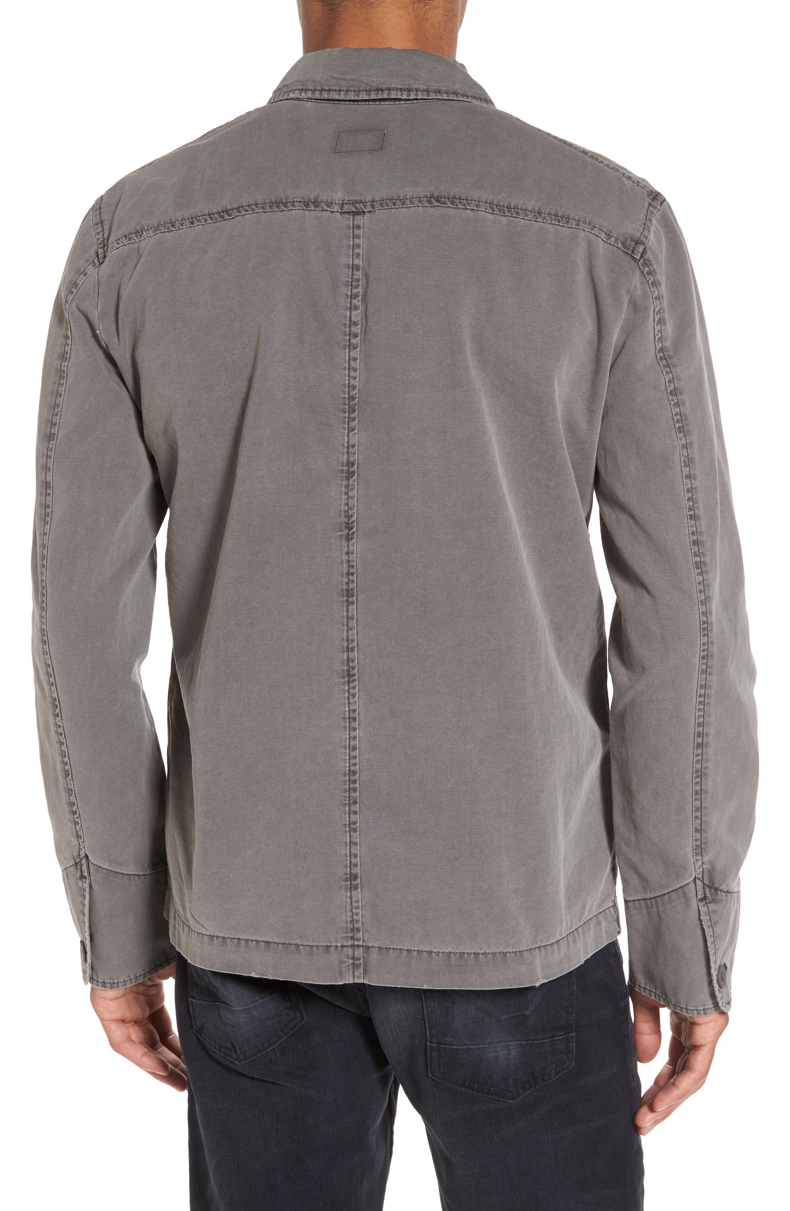 Marlon Canvas Shirt Jacket,                             Alternate thumbnail 2, color,                             035