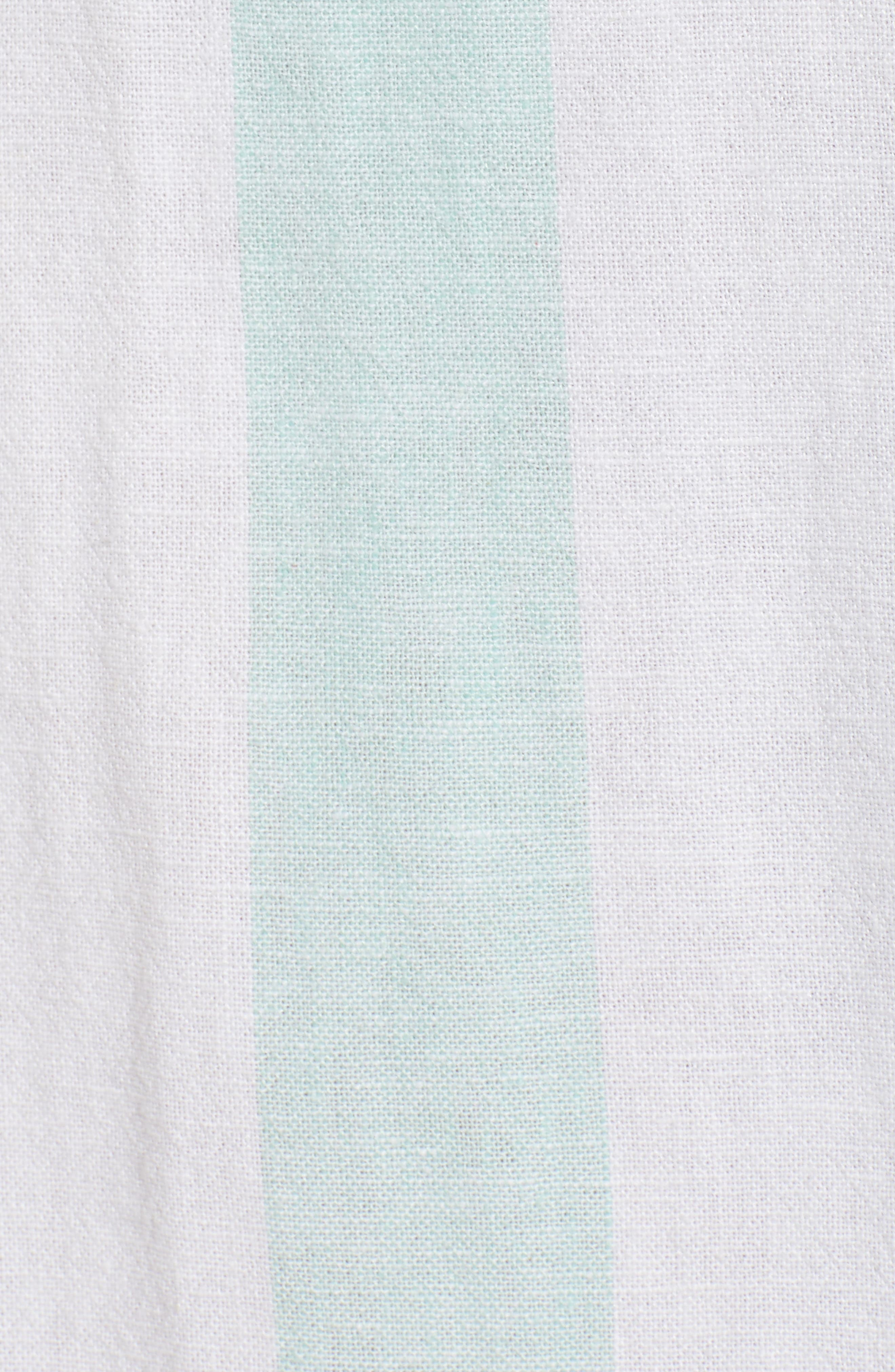BP.,                             Stripe Sundress,                             Alternate thumbnail 7, color,                             BLUE PLACID LACY STRIPE