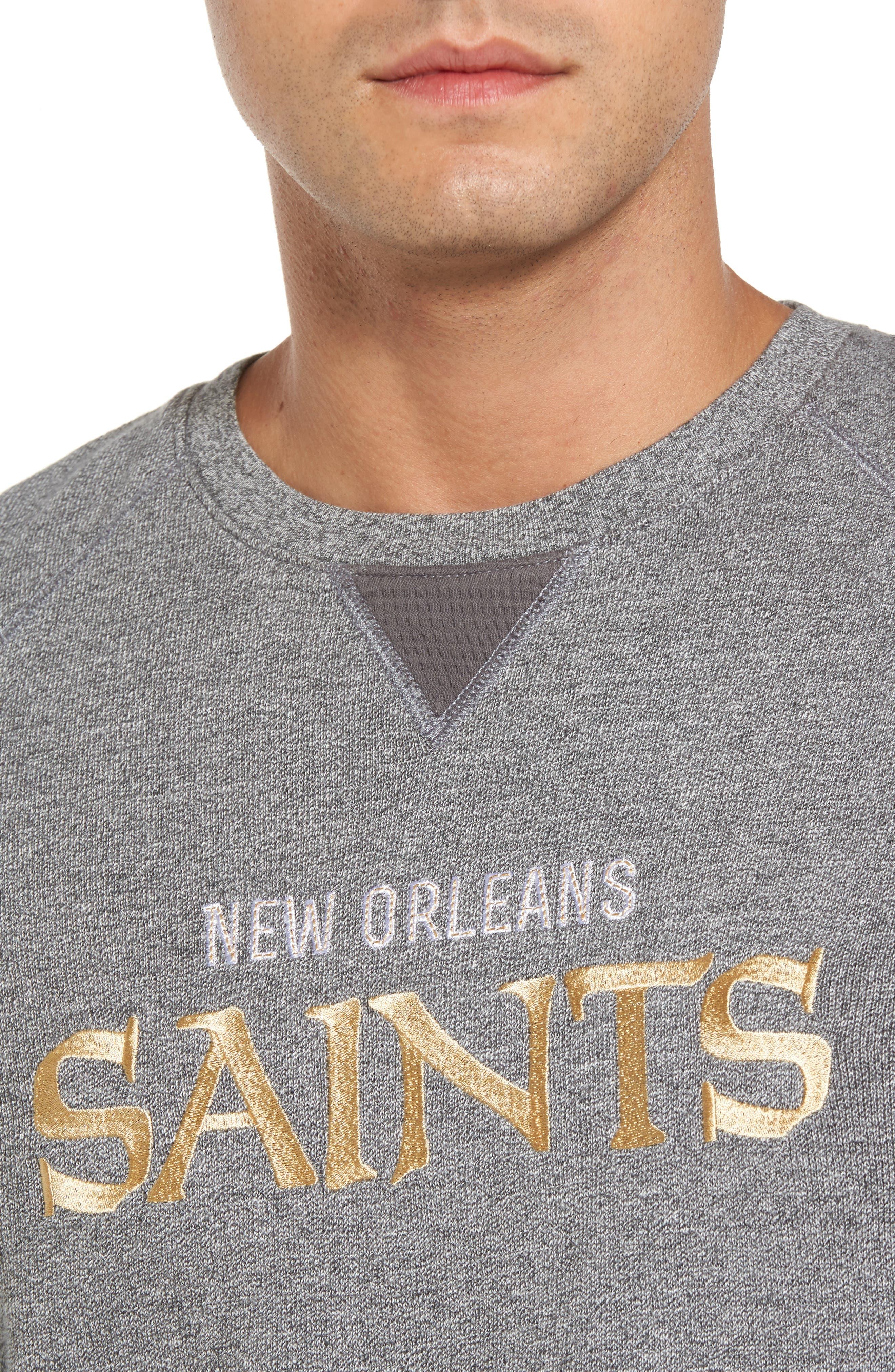 NFL Stitch of Liberty Embroidered Crewneck Sweatshirt,                             Alternate thumbnail 117, color,