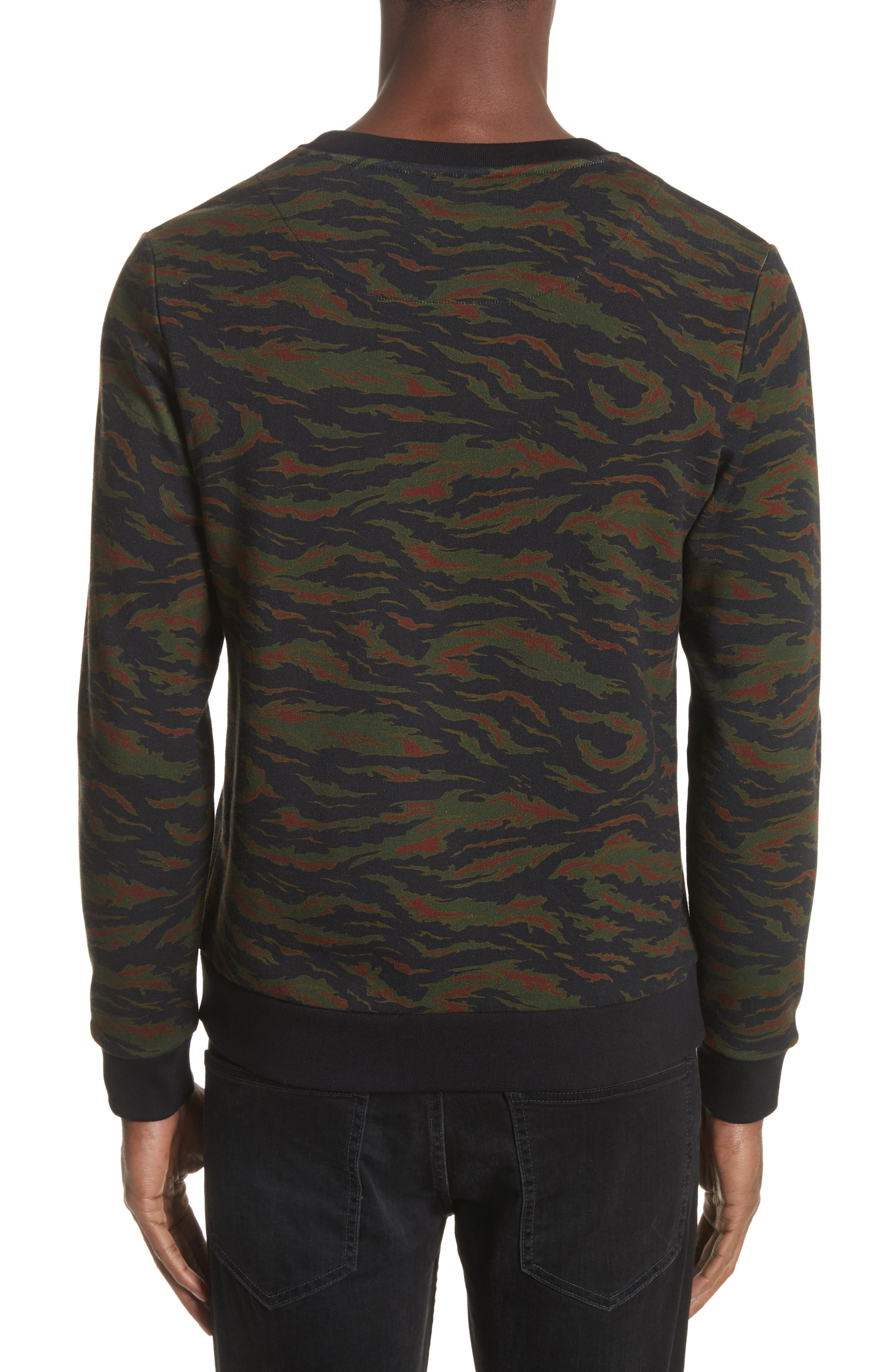 Camo Sweater,                             Alternate thumbnail 2, color,                             250