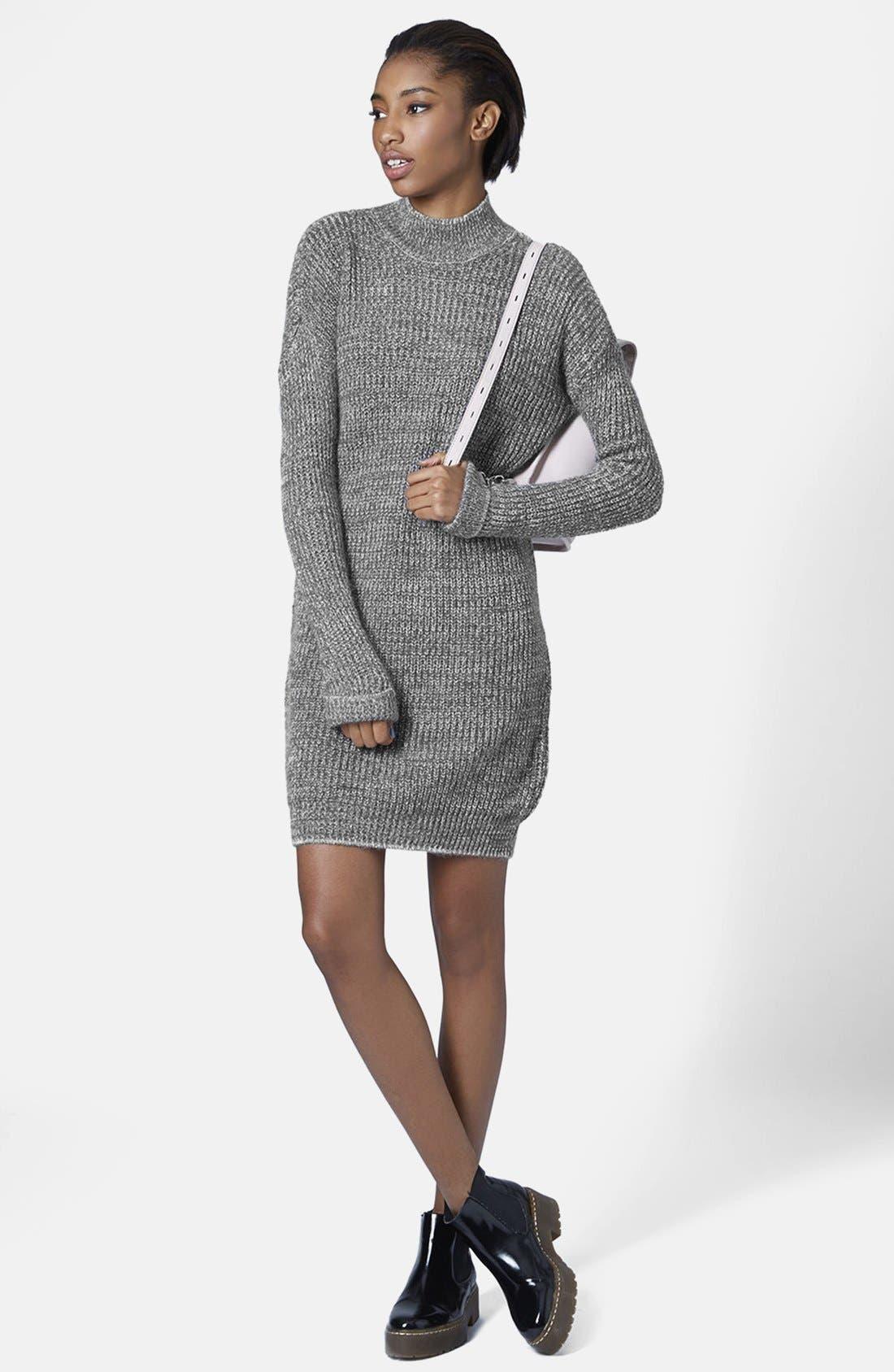 Sweater Dress,                             Alternate thumbnail 5, color,                             020
