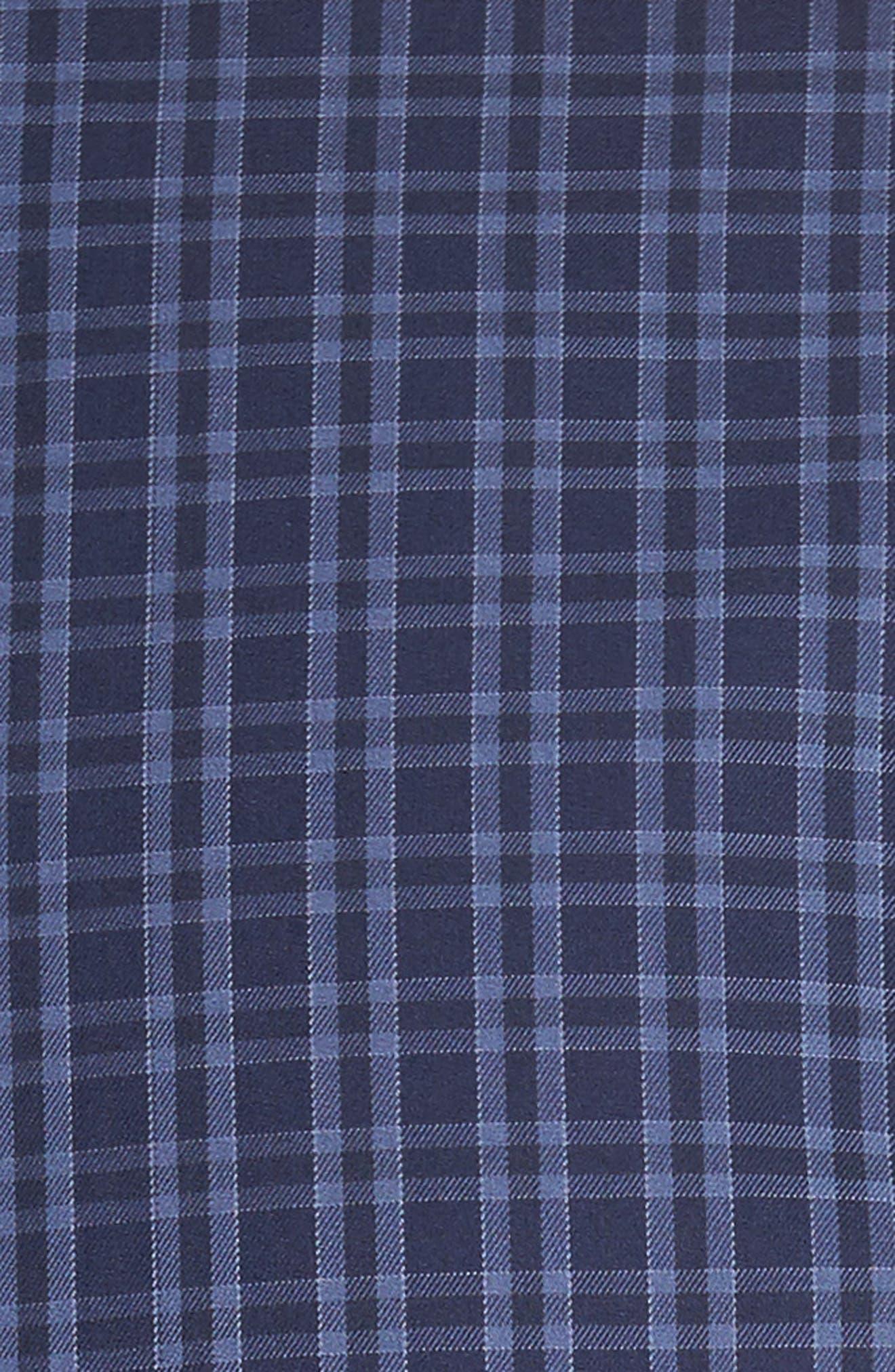 Autumn Check Regular Fit Sport Shirt,                             Alternate thumbnail 5, color,                             415