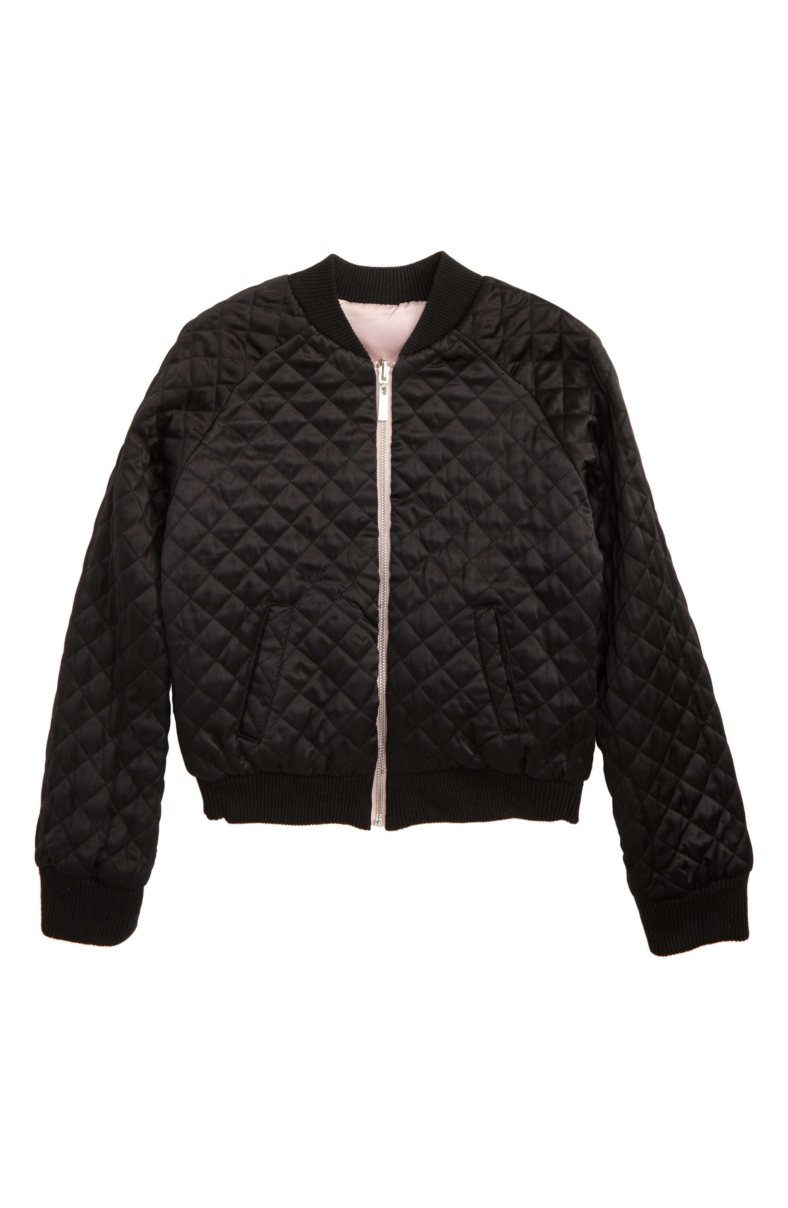 Embroidered Reversible Bomber Jacket,                             Alternate thumbnail 2, color,                             008