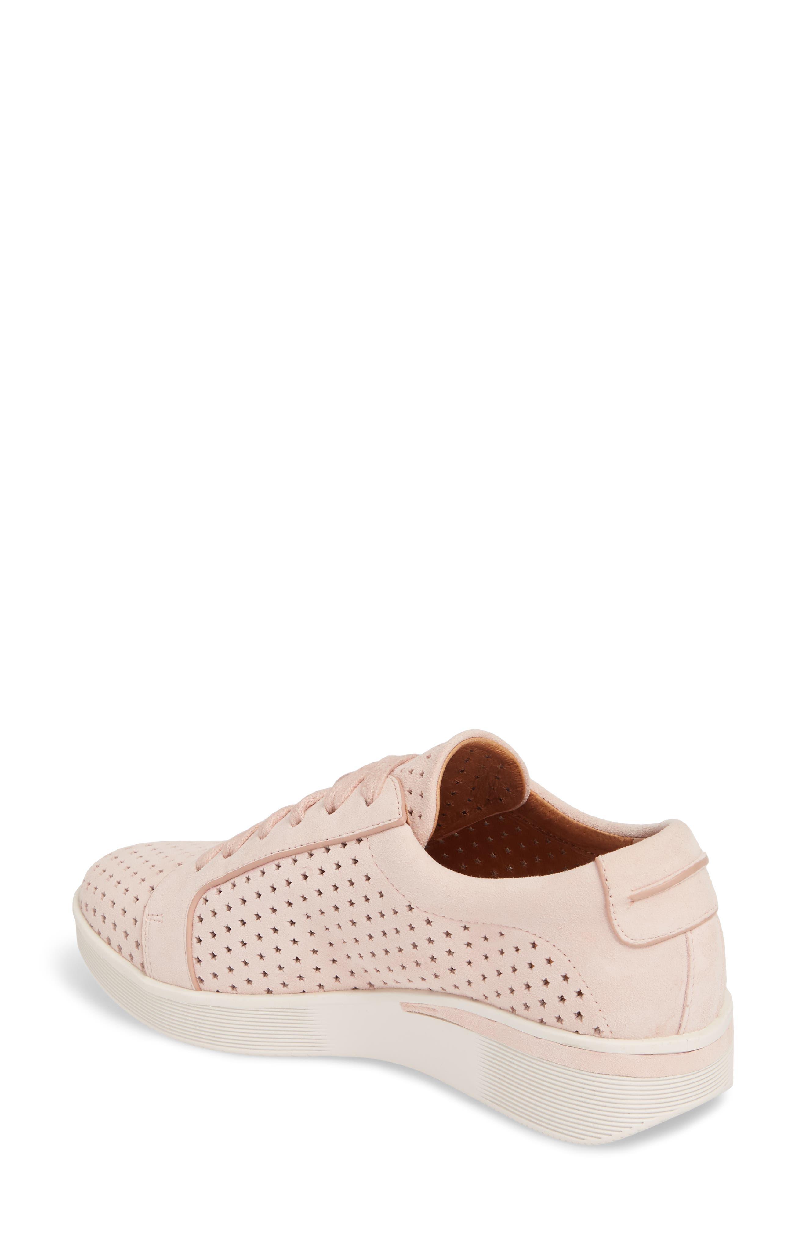 Haddie Low Platform Sneaker,                             Alternate thumbnail 2, color,                             PEONY