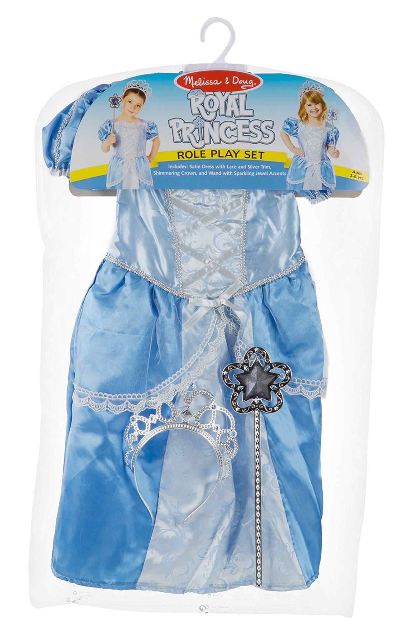 Royal Princess Role Play Set,                             Alternate thumbnail 4, color,                             BLUE
