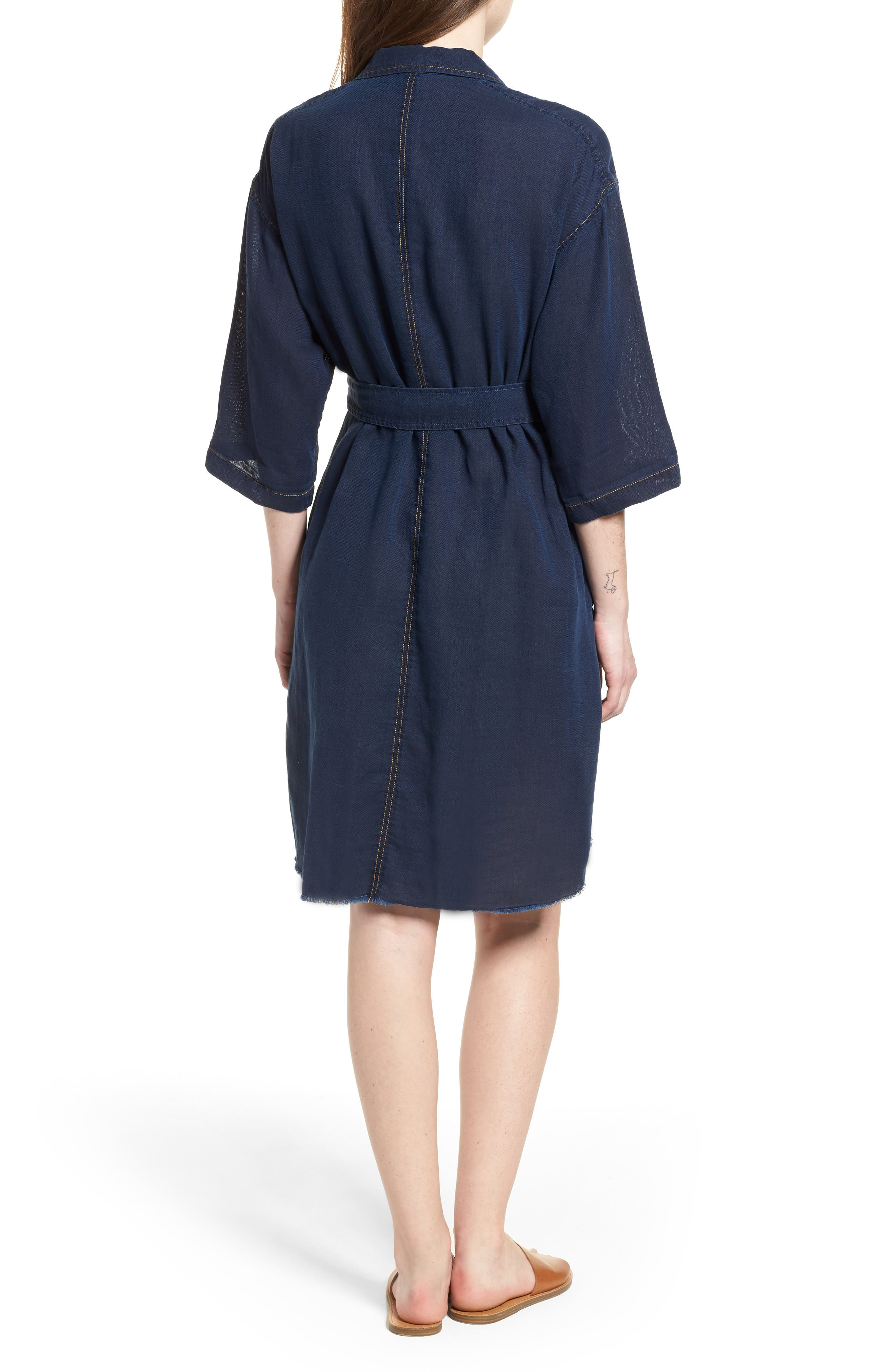 AG,                             Claudia Canvas Shirtdress,                             Alternate thumbnail 2, color,                             425
