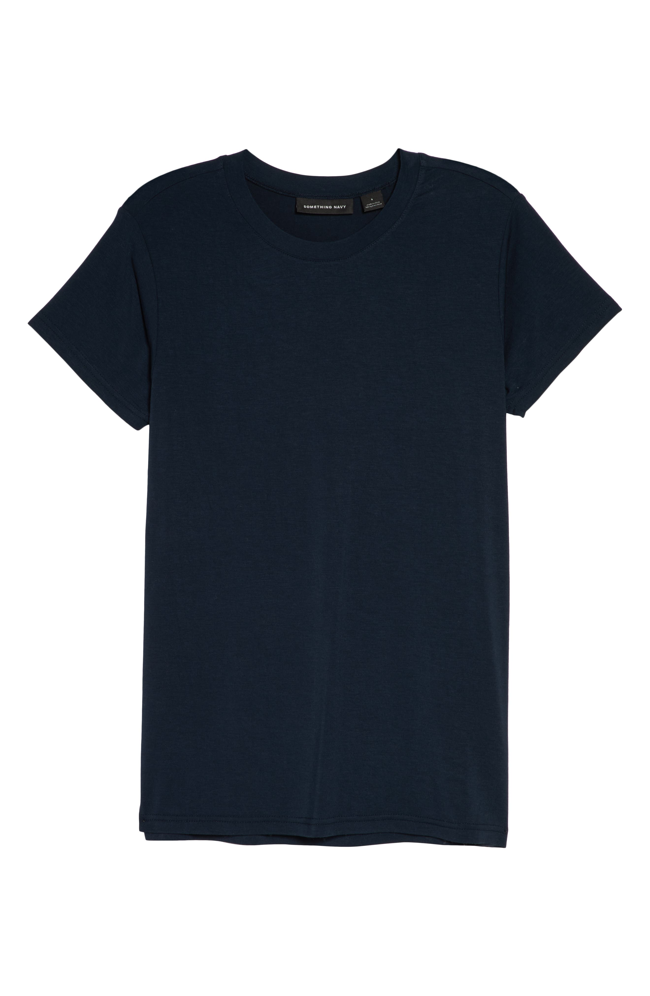 Easy Tee,                             Alternate thumbnail 6, color,                             NAVY CARBON