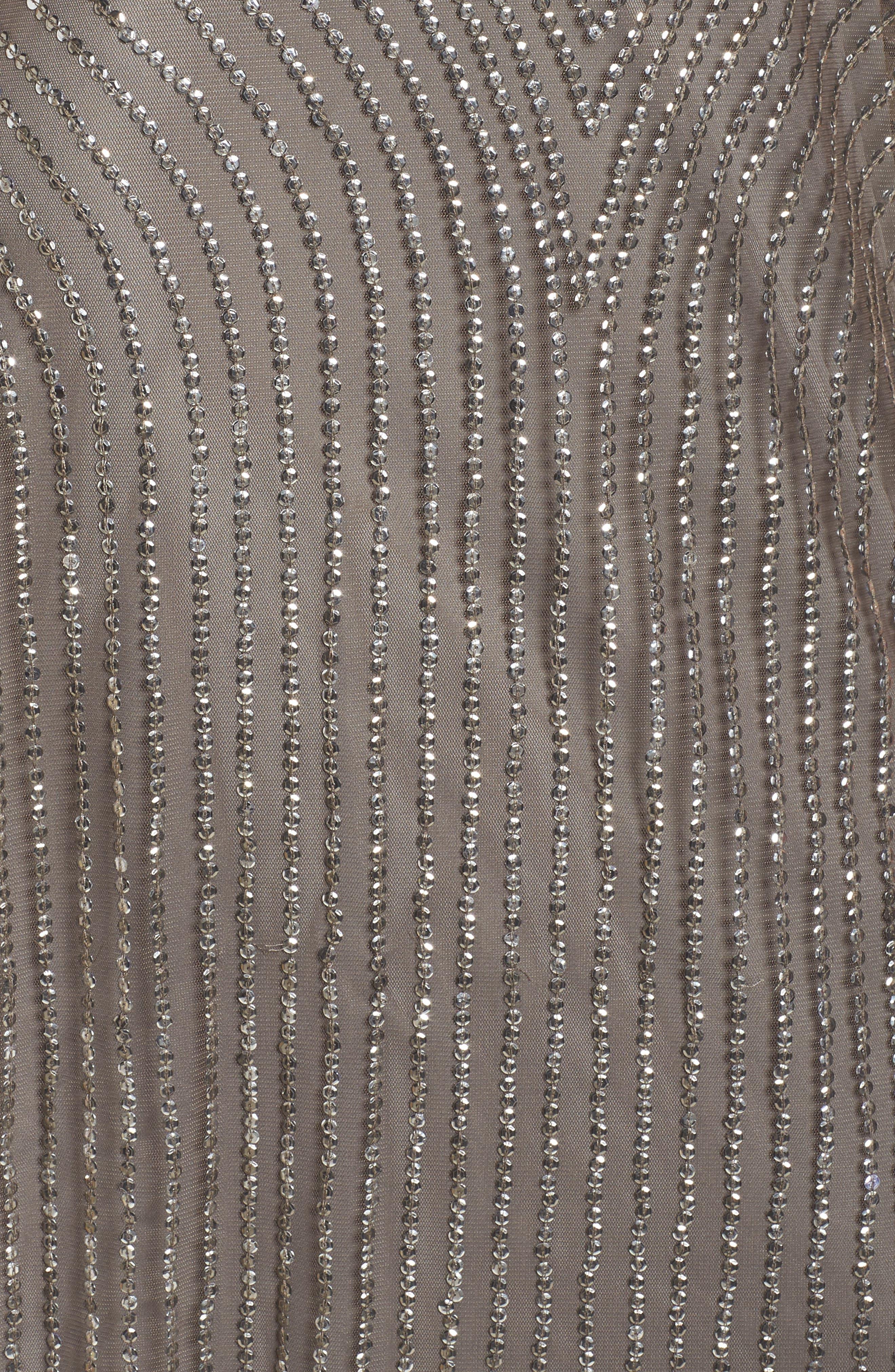 Sequin Gown,                             Alternate thumbnail 5, color,                             020