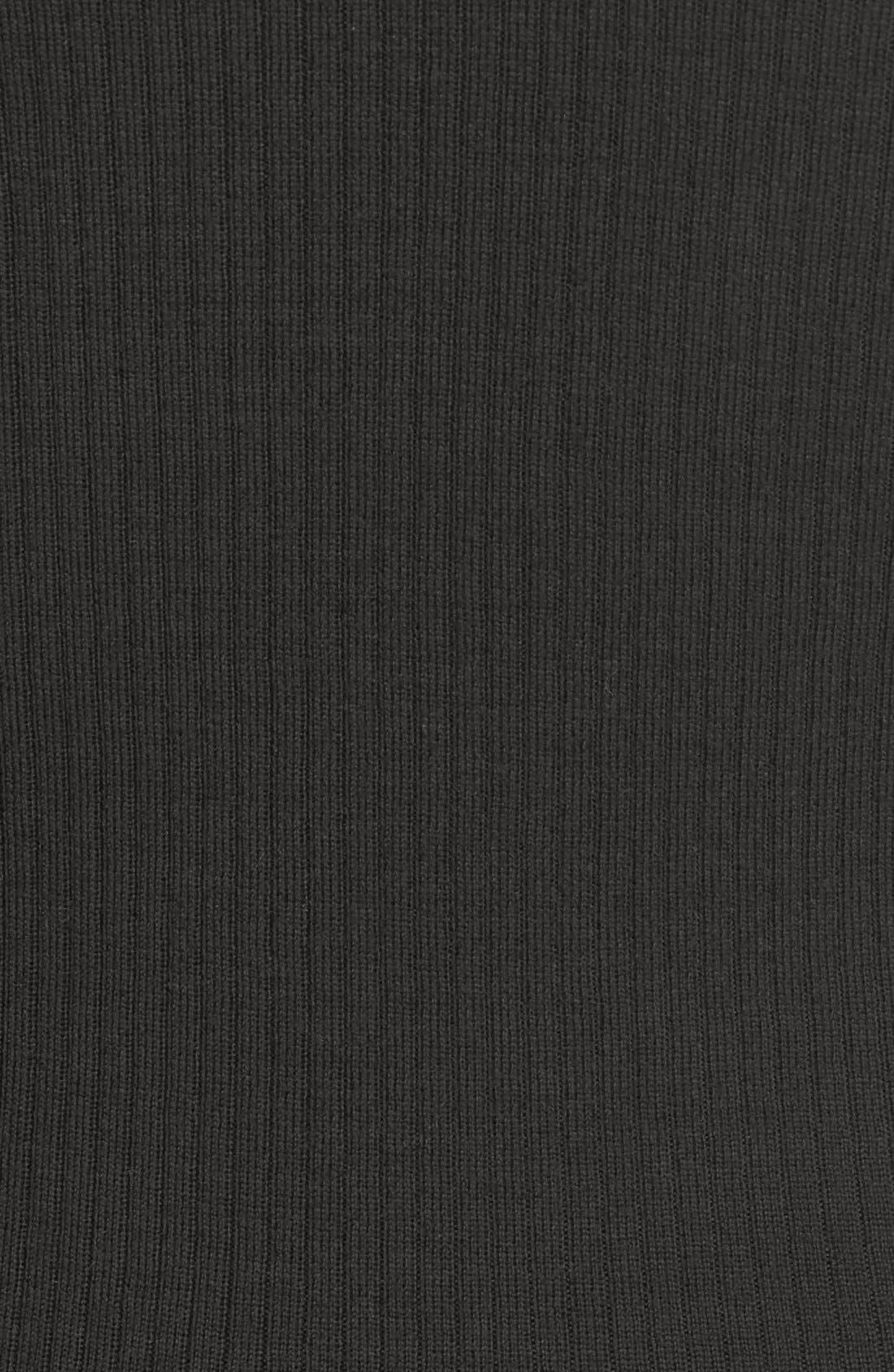 'Mirzi' Rib Knit Merino Wool Sweater,                             Alternate thumbnail 5, color,                             363