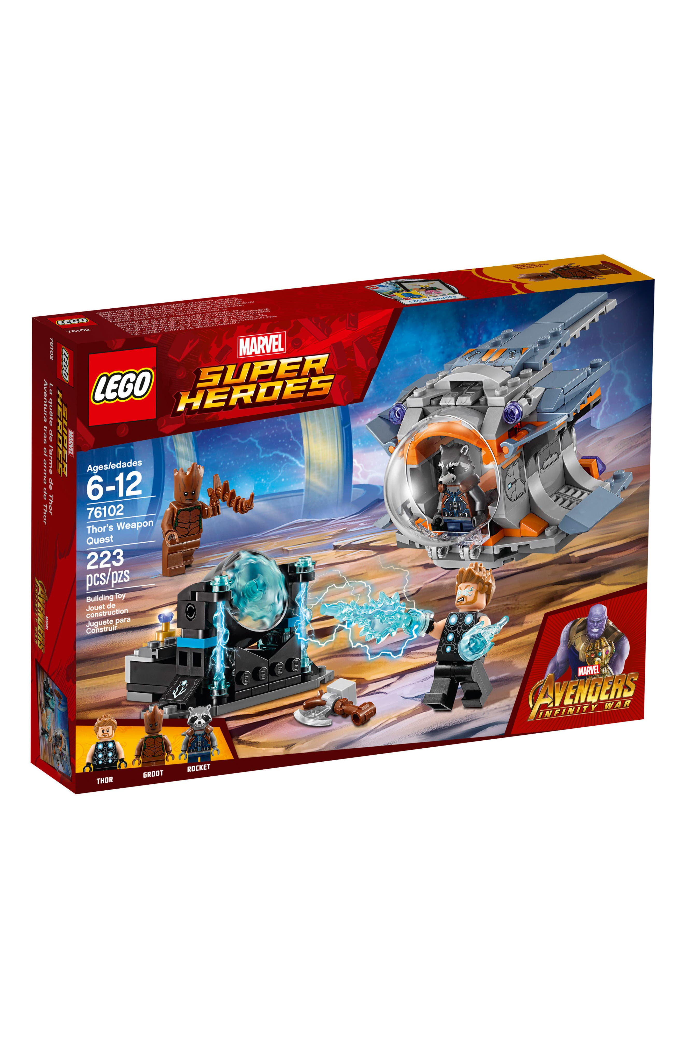 Marvel<sup>®</sup> Super Heroes Thor's Weapon Quest<sup>™</sup> - 76102,                             Main thumbnail 1, color,                             MULTI