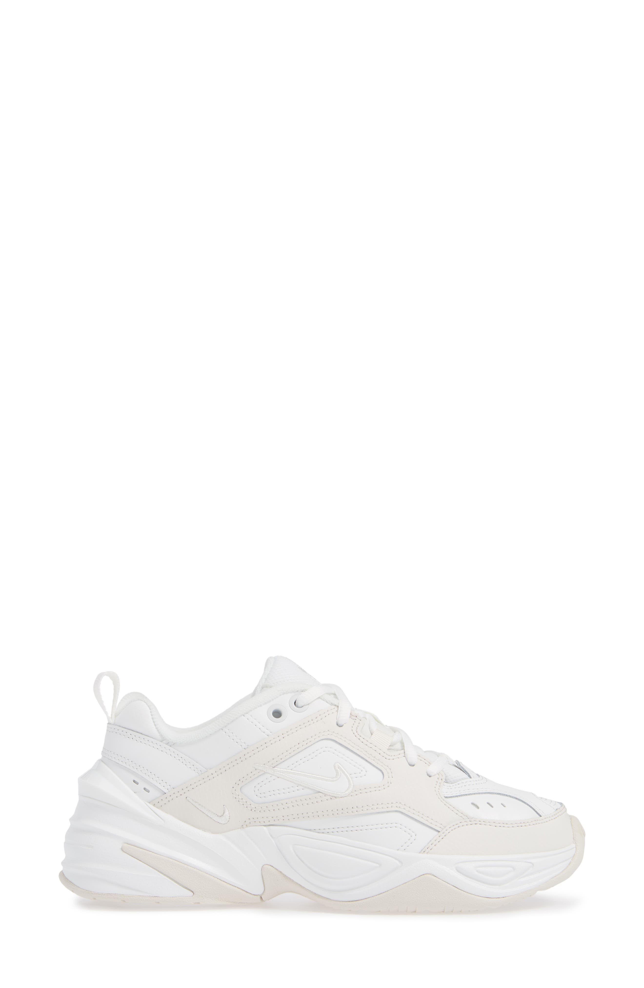 M2K Tekno Sneaker,                             Alternate thumbnail 3, color,                             WHITE