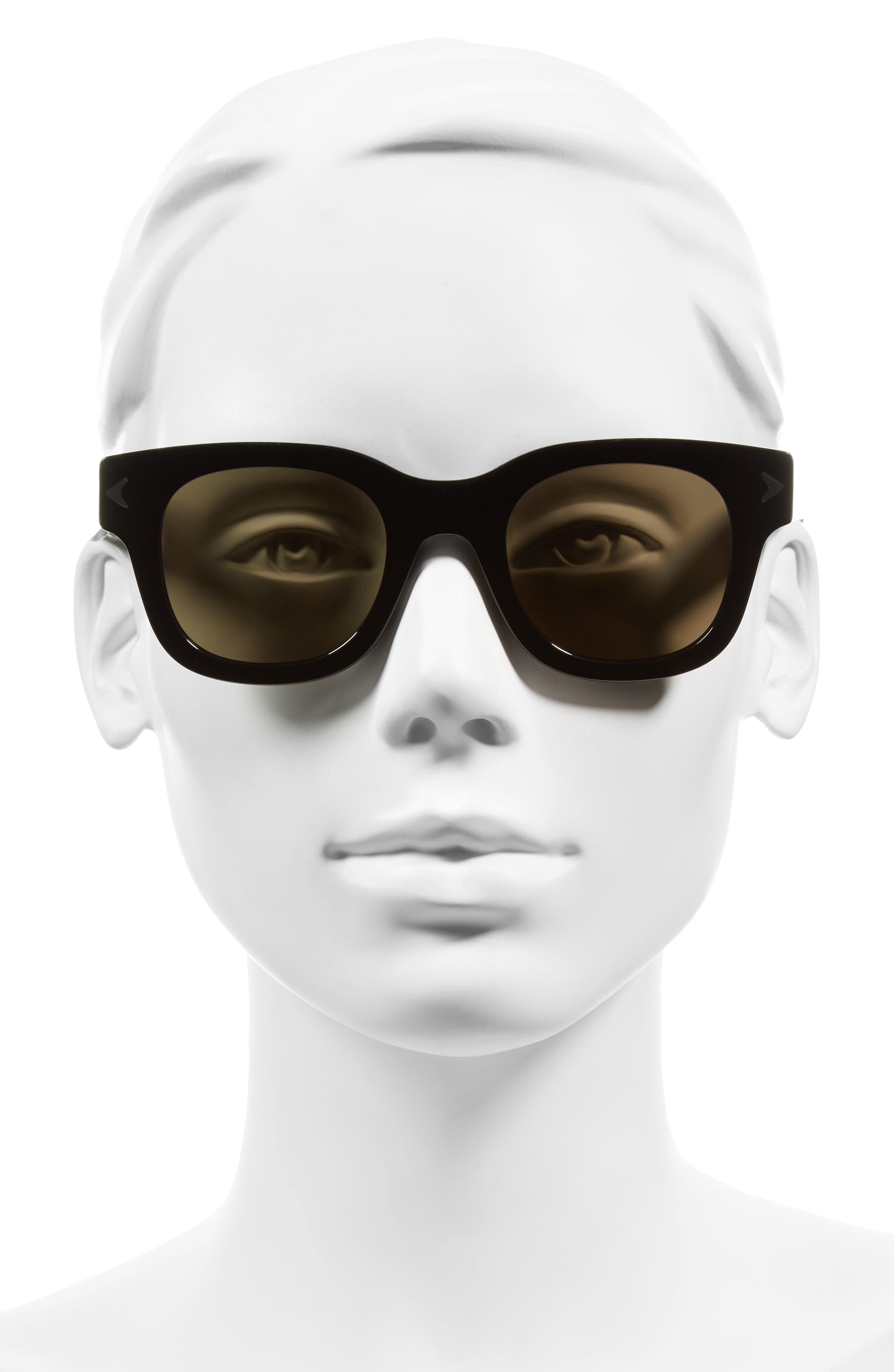 47mm Gradient Sunglasses,                             Alternate thumbnail 4, color,                             002