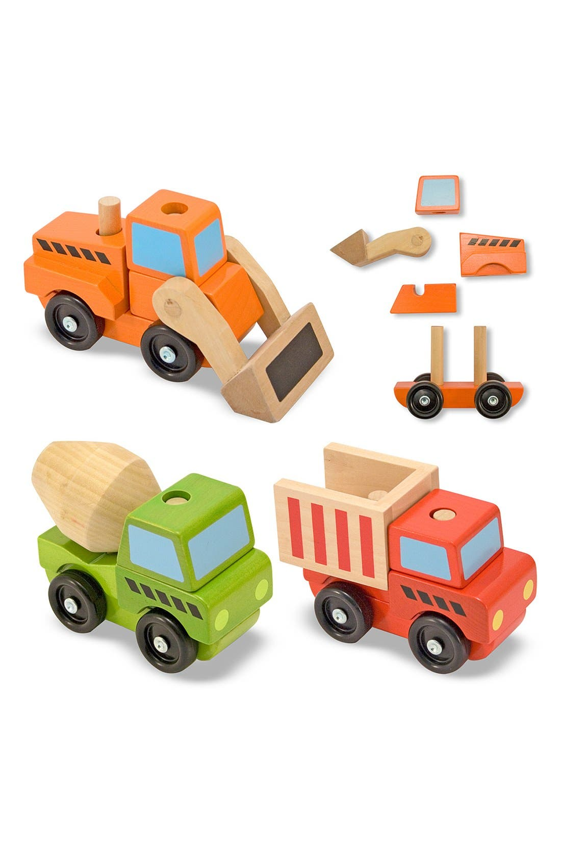 Stacking Construction Vehicles,                             Alternate thumbnail 4, color,                             MULTI