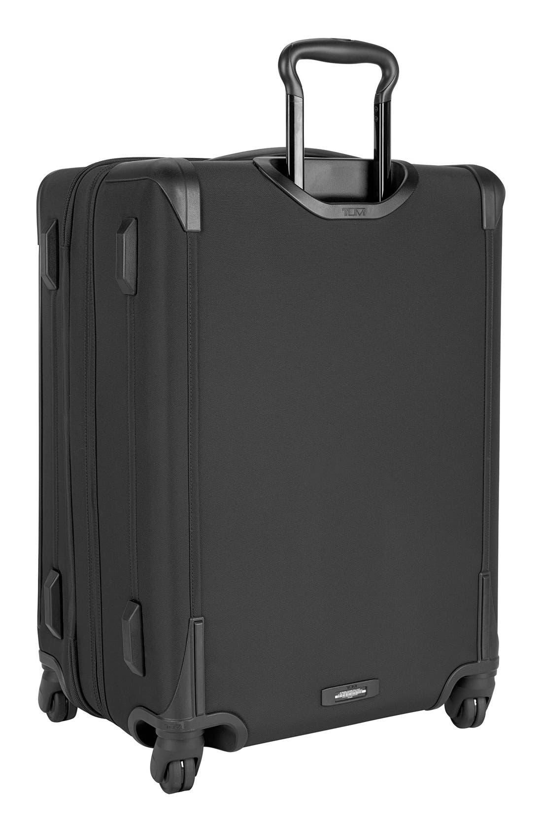 Larkin - Jess Short Trip 26-Inch Expandable 4-Wheel Suitcase,                             Alternate thumbnail 8, color,                             BLACK