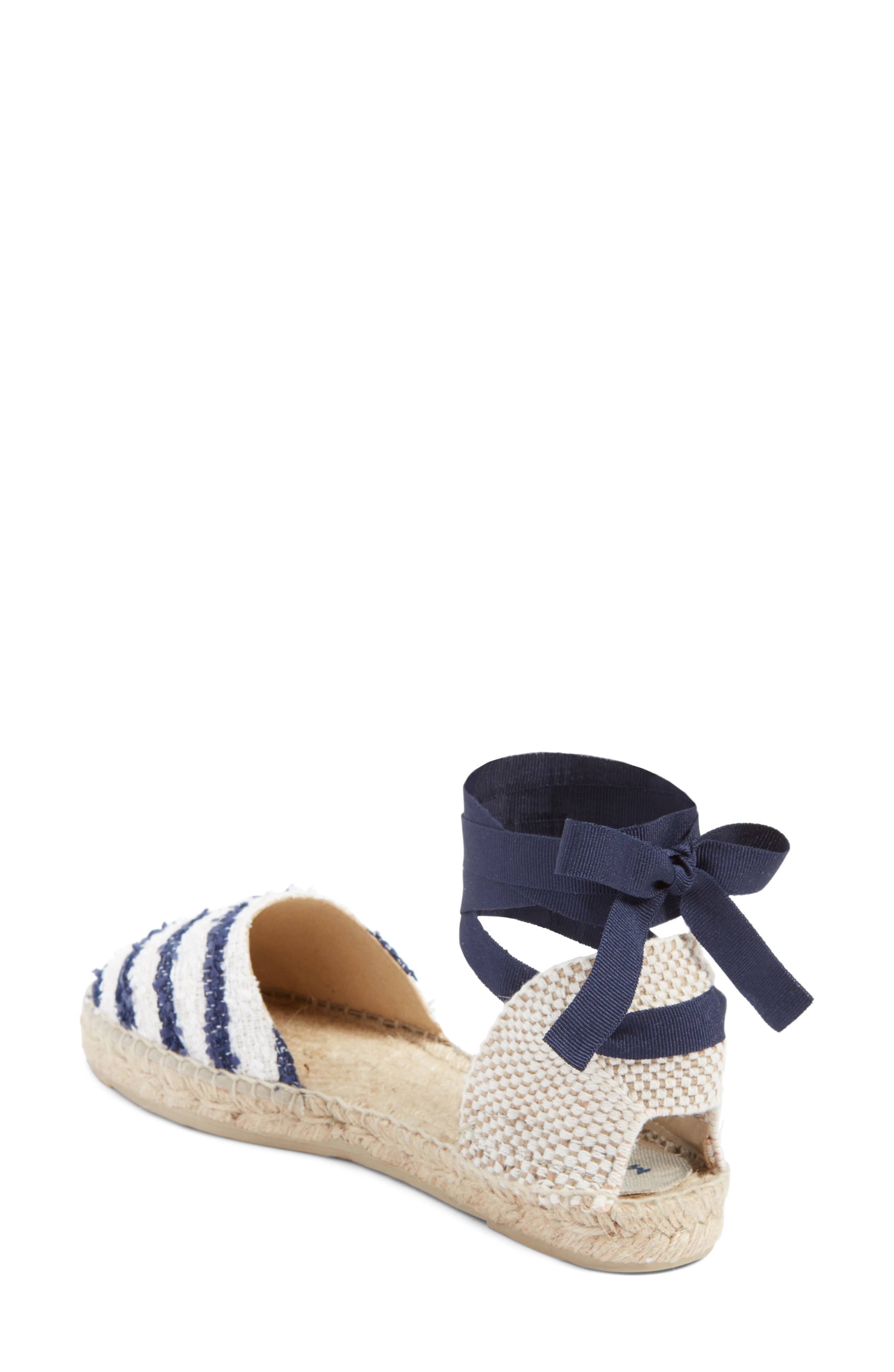 MANEBÍ Paris Lace-Up Espadrille Sandal,                             Alternate thumbnail 2, color,                             400