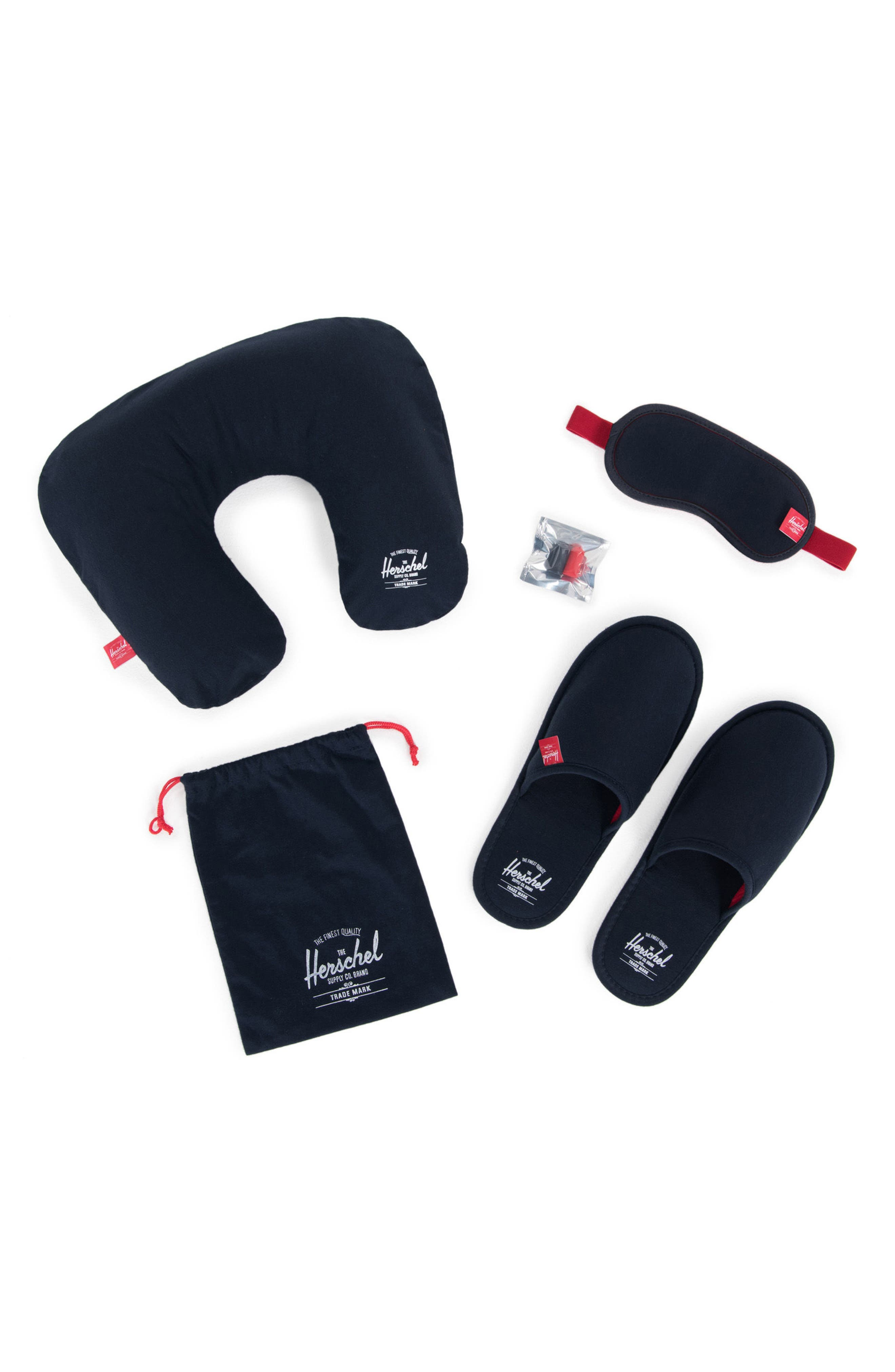 Amenity Kit,                         Main,                         color, NAVY/ RED