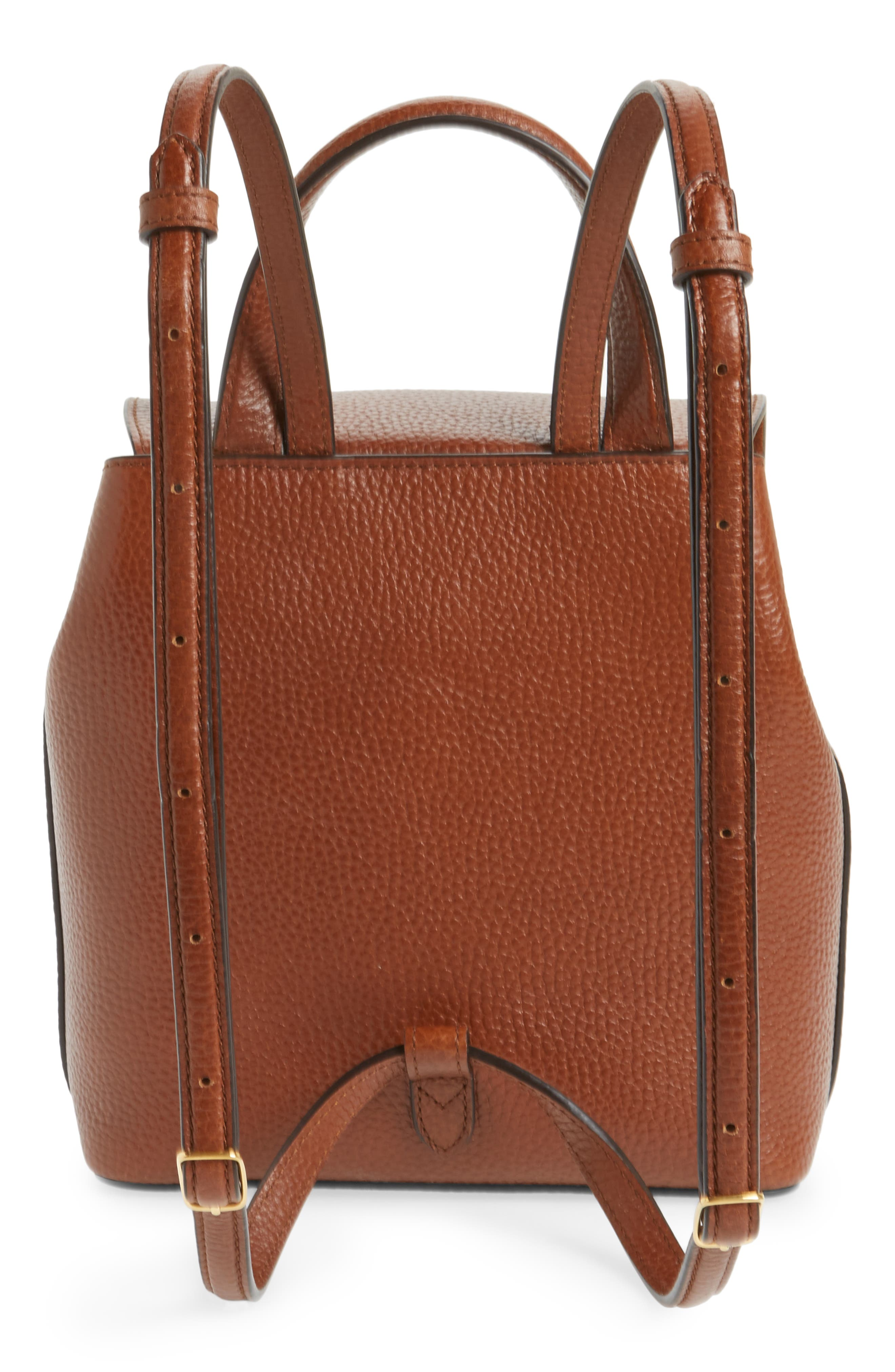 Mini Bayswater Calfskin Leather Convertible Backpack,                             Alternate thumbnail 3, color,                             201