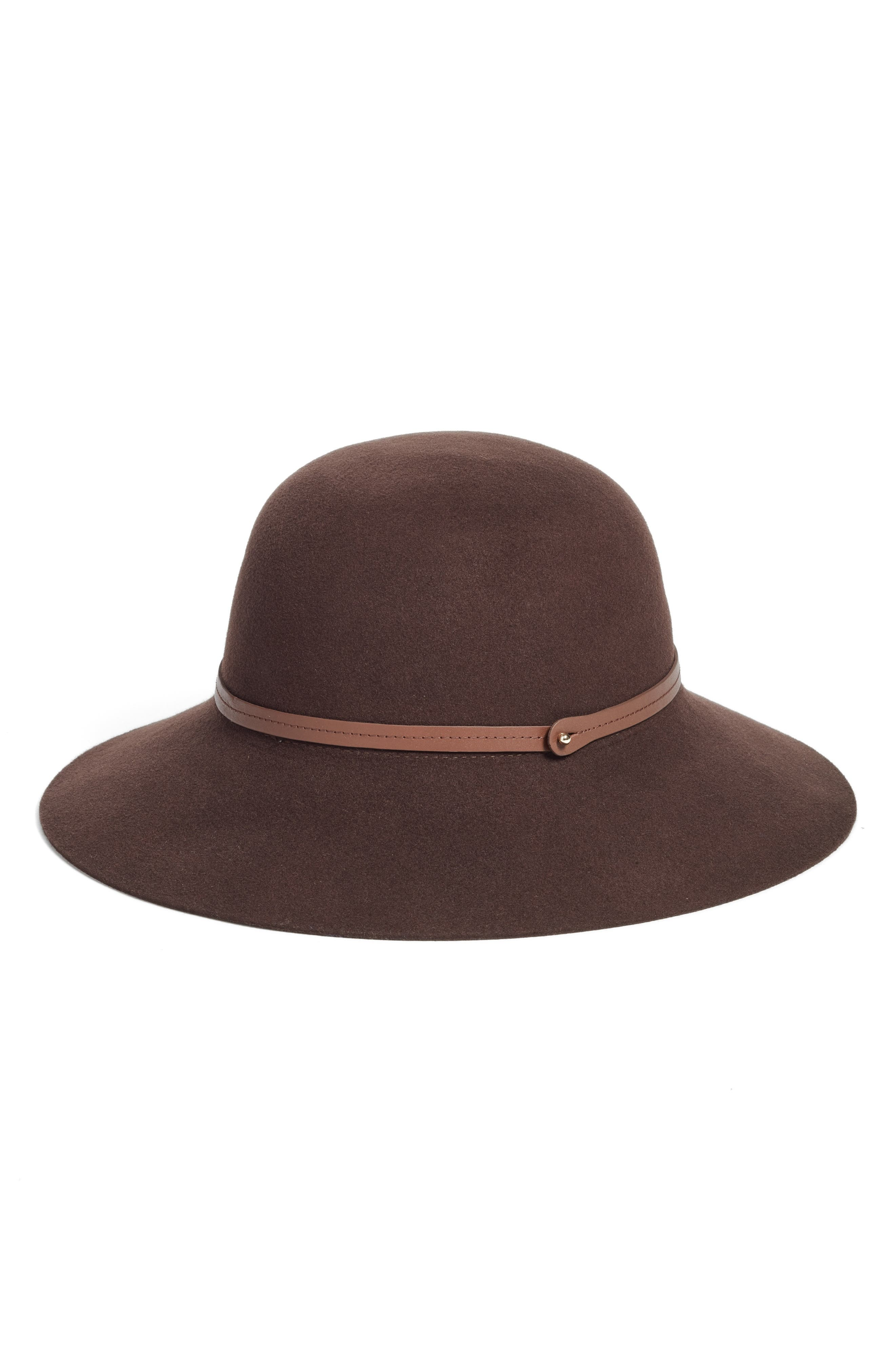 Angled Brim Wool Felt Hat,                             Alternate thumbnail 2, color,                             200