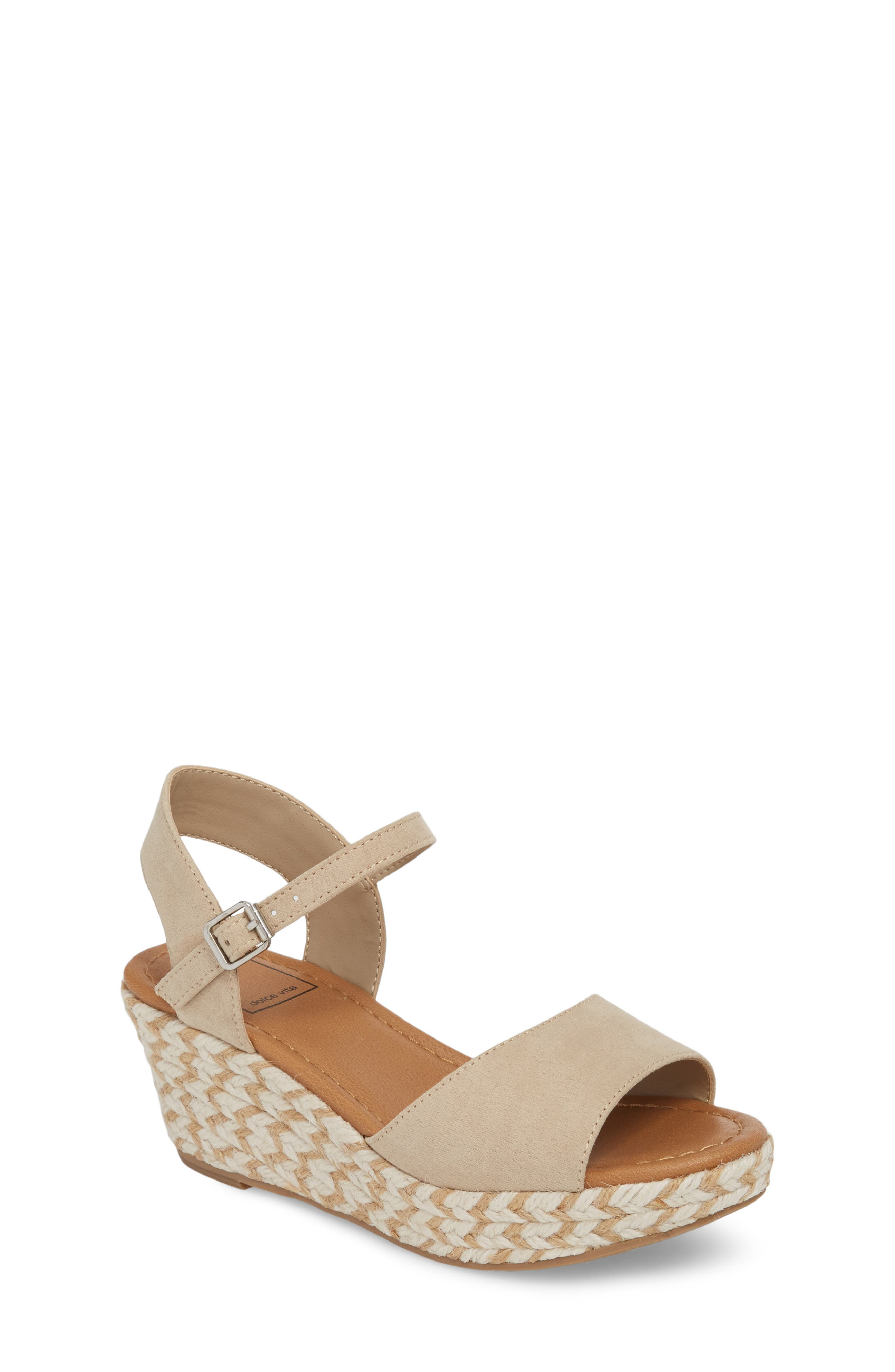 Wendy Espadrille Wedge Sandal,                         Main,                         color, 277