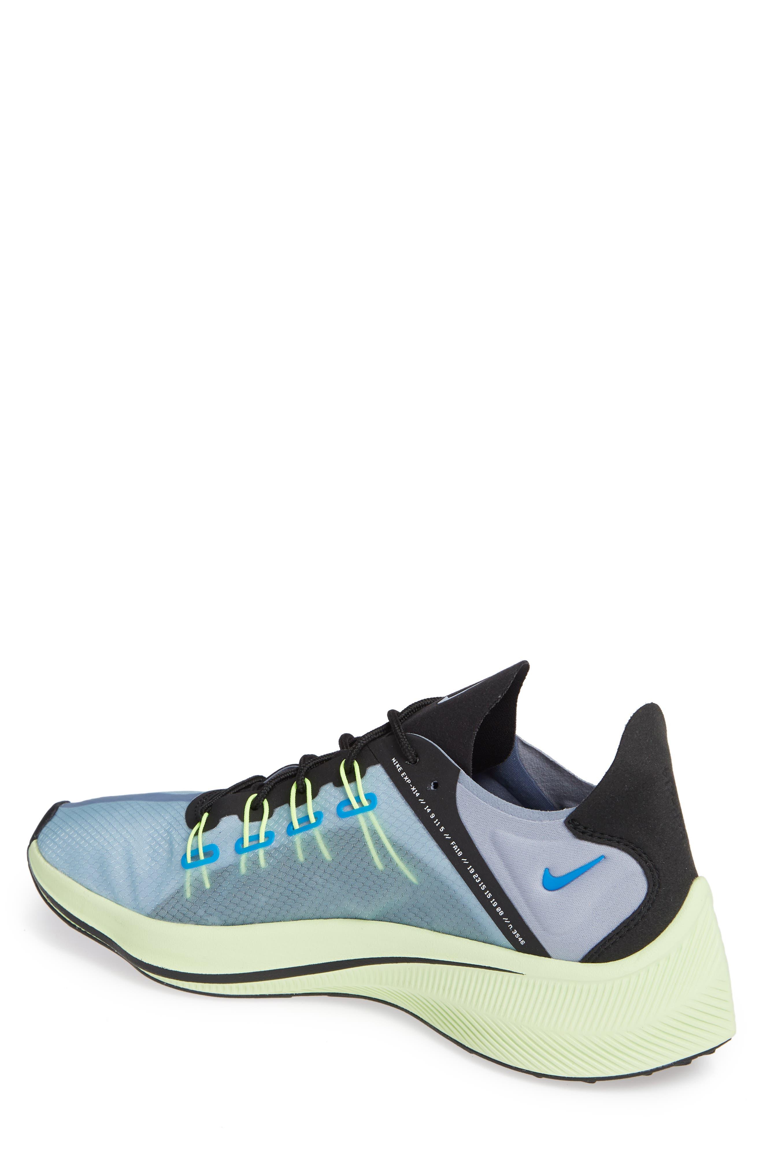 EXP-X14 Running Shoe,                             Alternate thumbnail 2, color,                             PHOTO BLUE/ GLACIER GREY