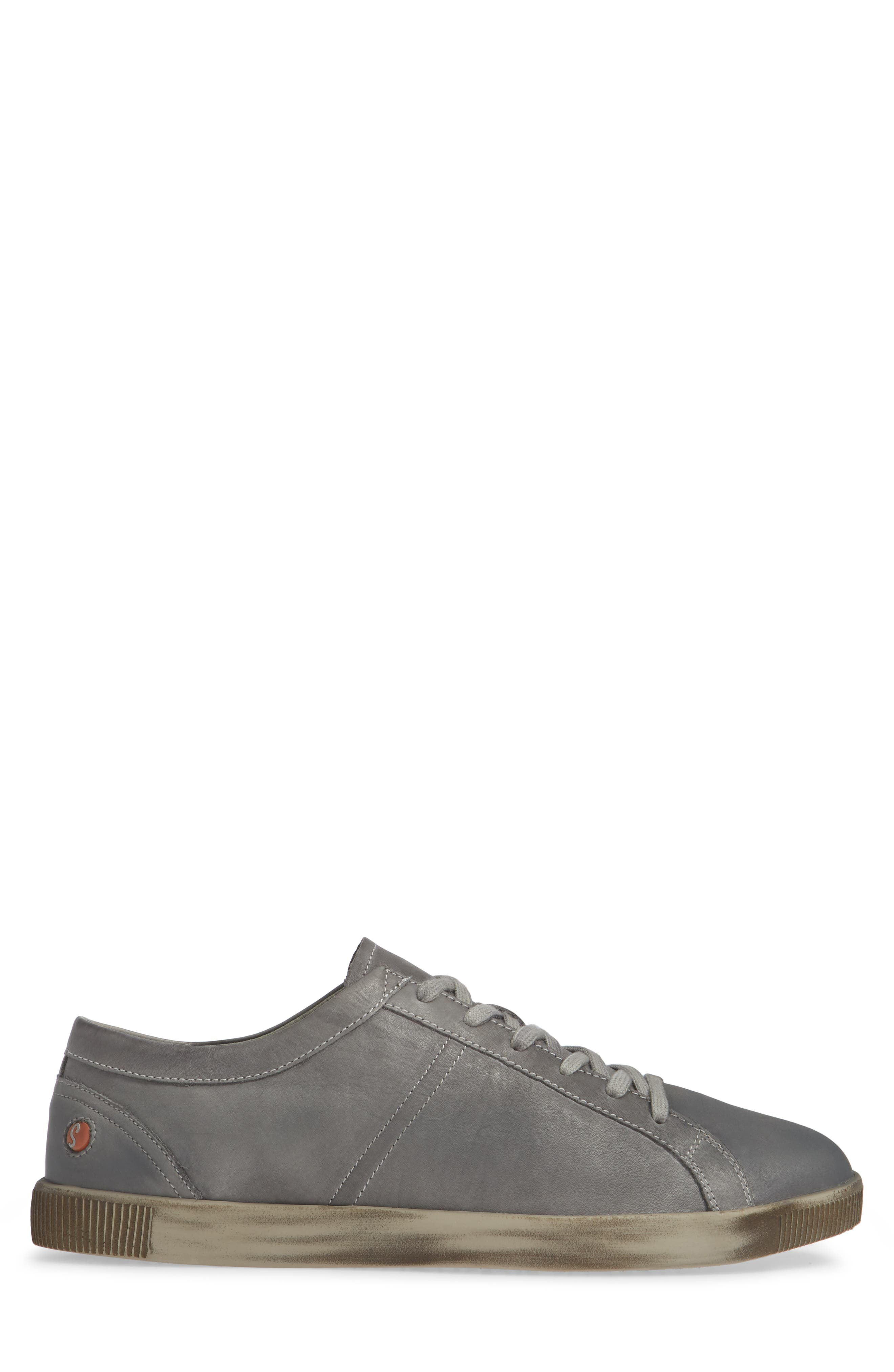 Tom Sneaker,                             Alternate thumbnail 3, color,                             MILITARY WASHED LEATHER
