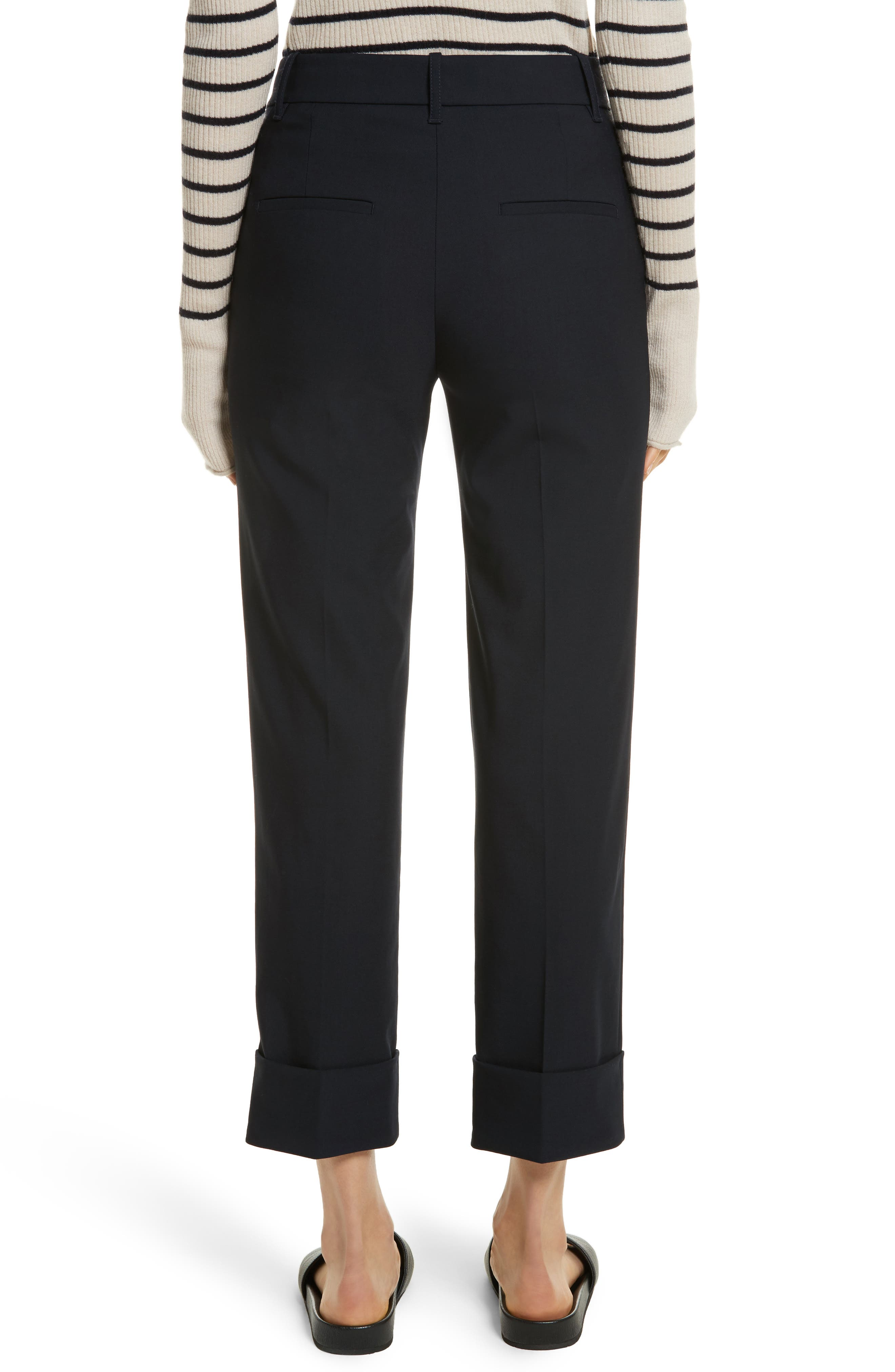 Cuffed Coin Pocket Trousers,                             Alternate thumbnail 4, color,