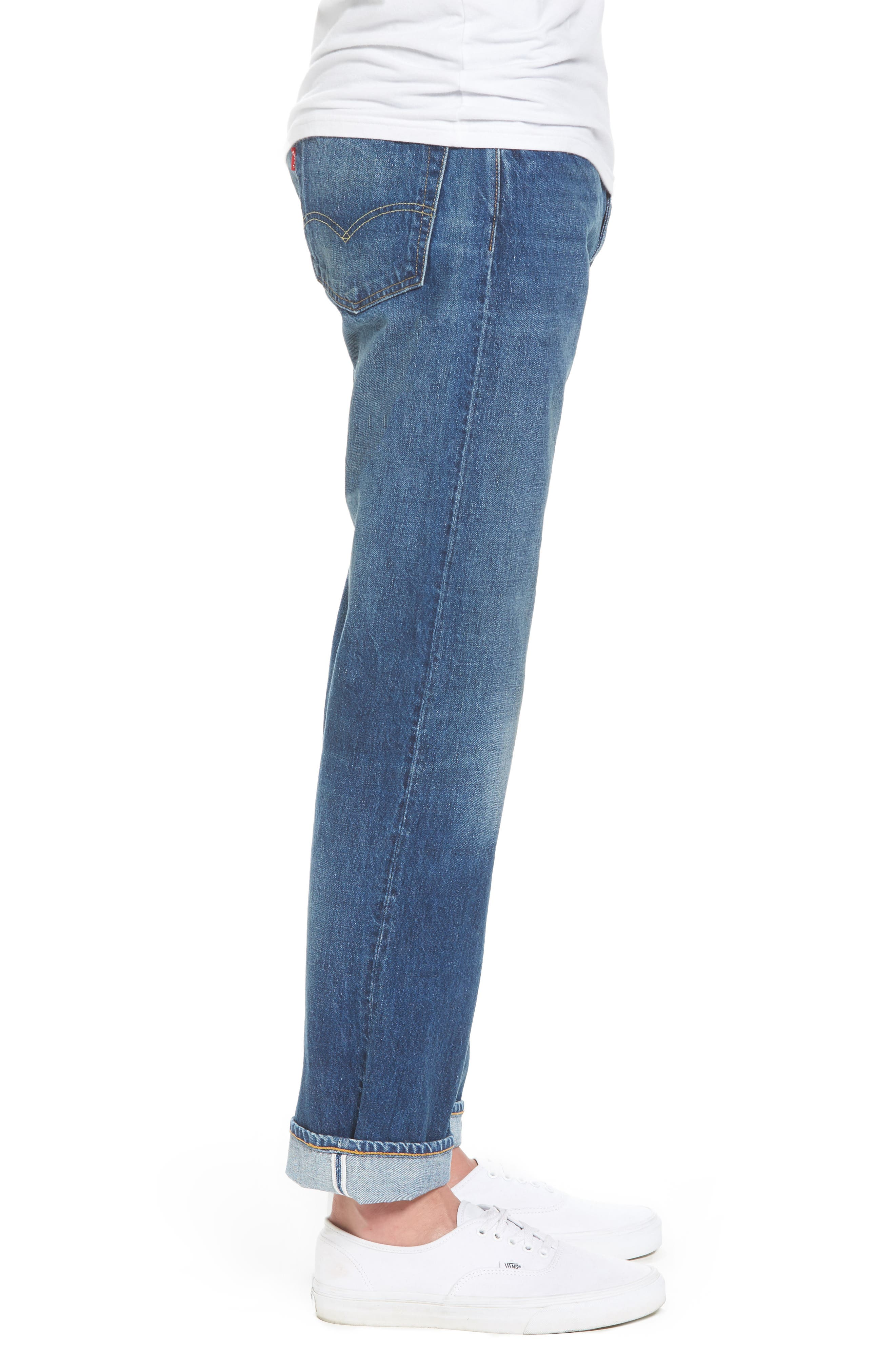 1954 501<sup>®</sup> Tapered Leg Jeans,                             Alternate thumbnail 3, color,                             401