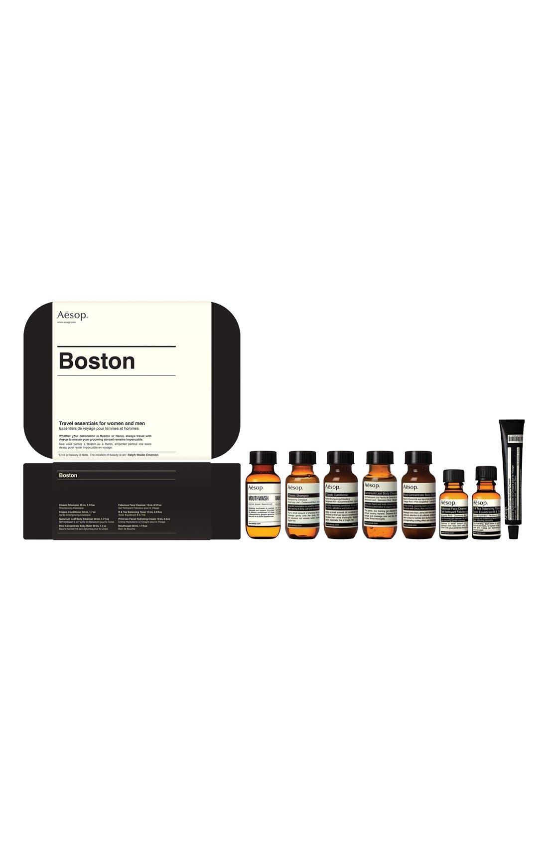 Boston Hair & Body Care Travel Kit,                             Main thumbnail 1, color,                             960